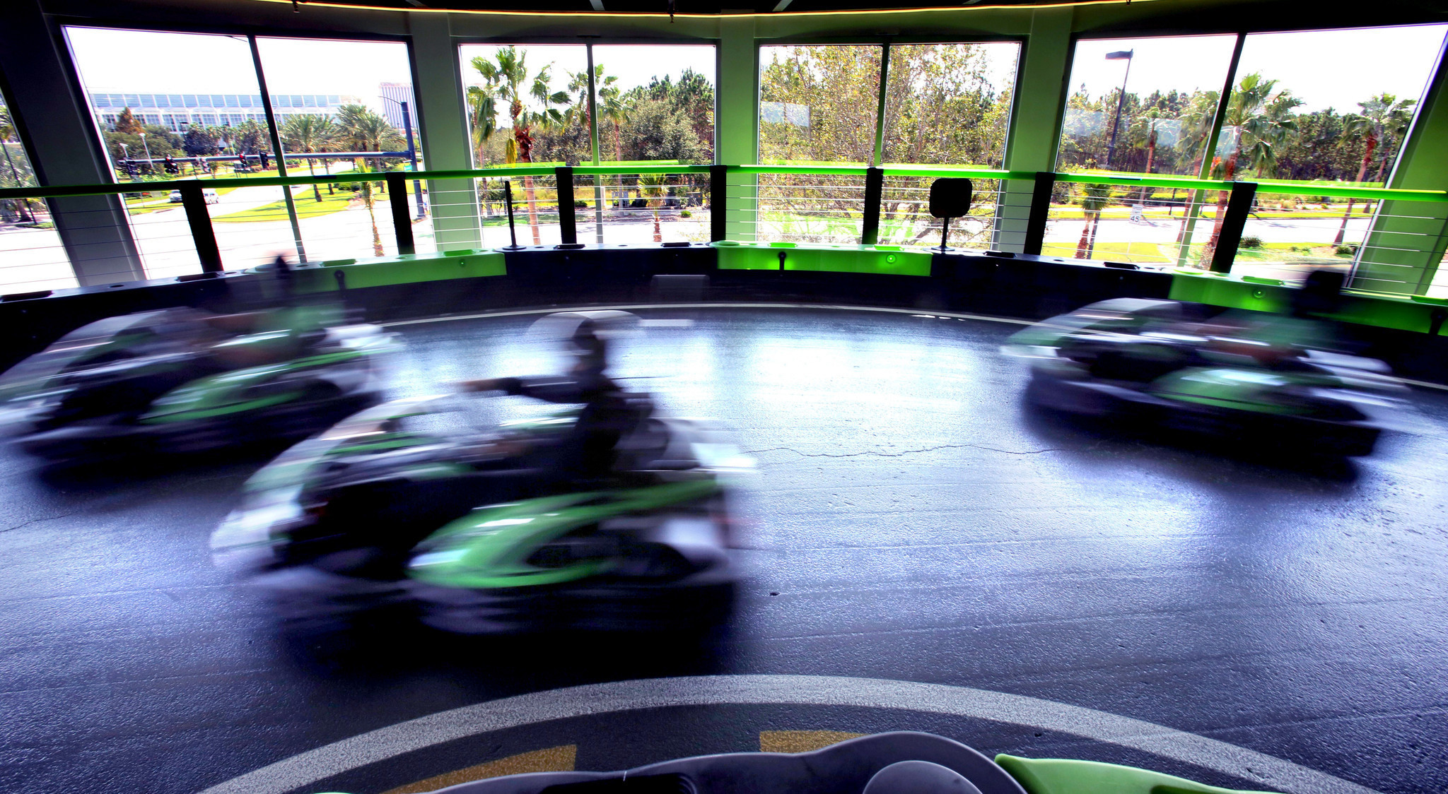 Electric Go Kart >> Andretti Indoor Karting brings electric jolt to Orlando's I-Drive - Orlando Sentinel