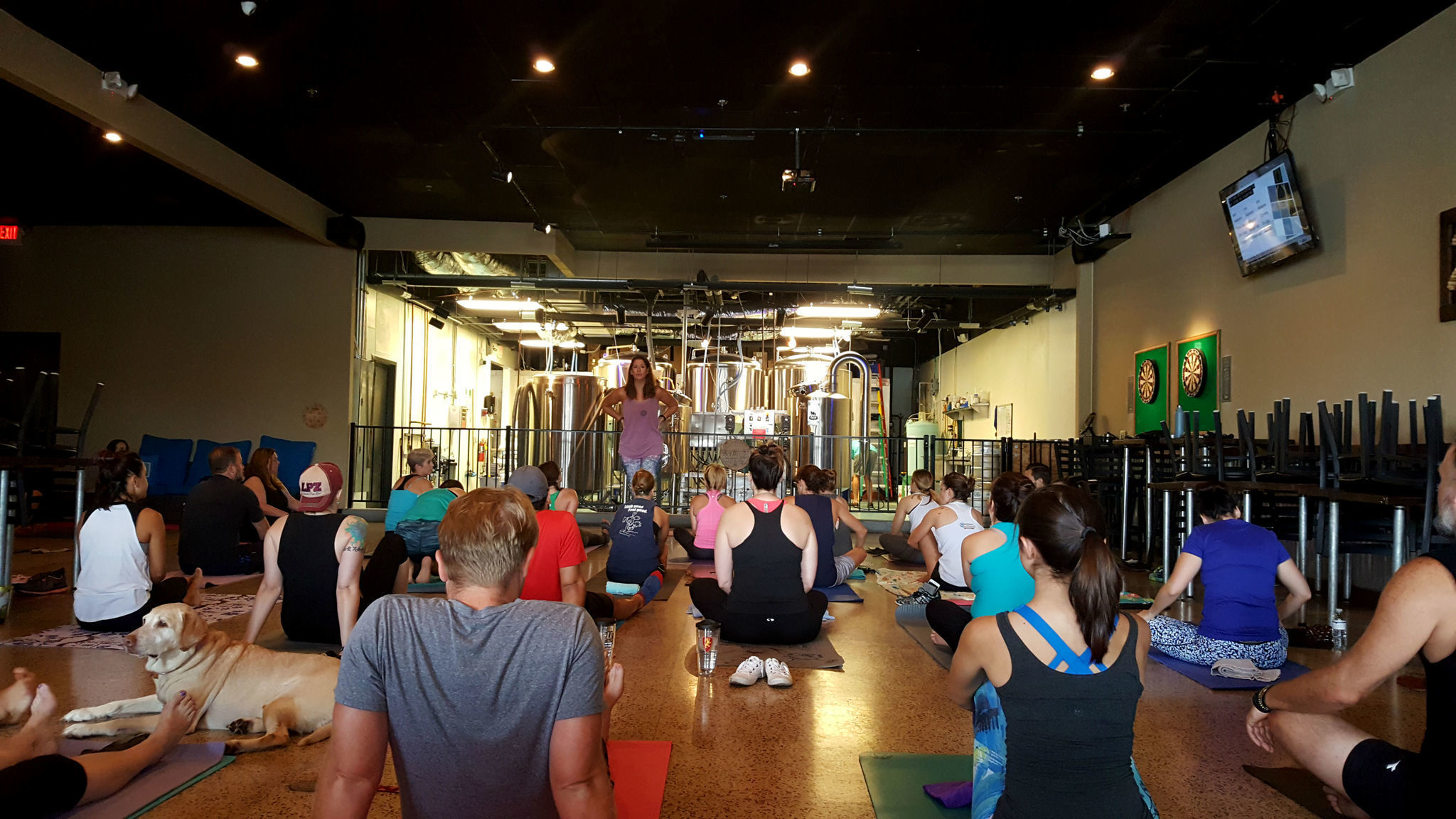Perfect Pairing Yoga And Breweries Team Up To Attract
