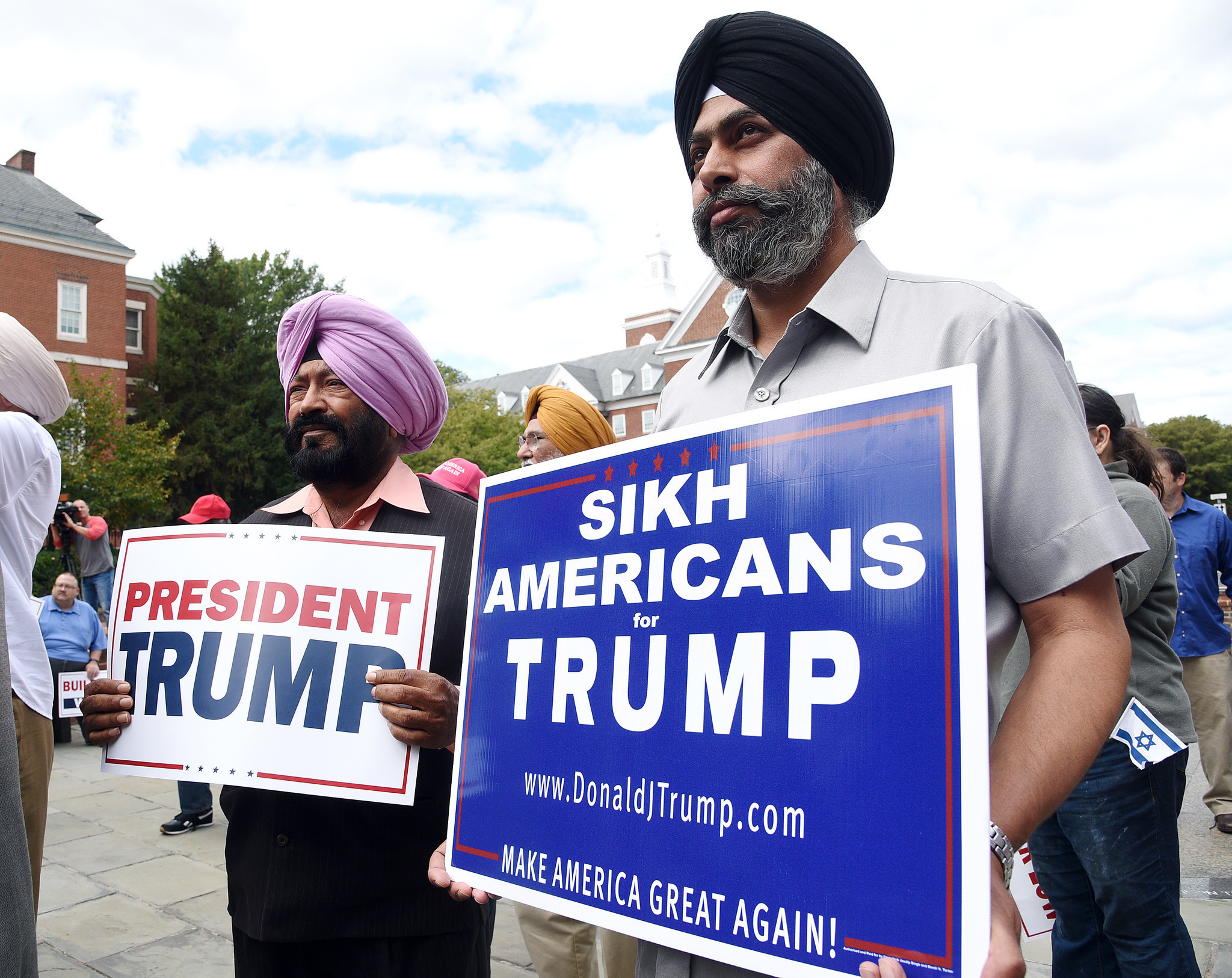 Muslim Supporters For President Donald Trump Rally In Annapolis