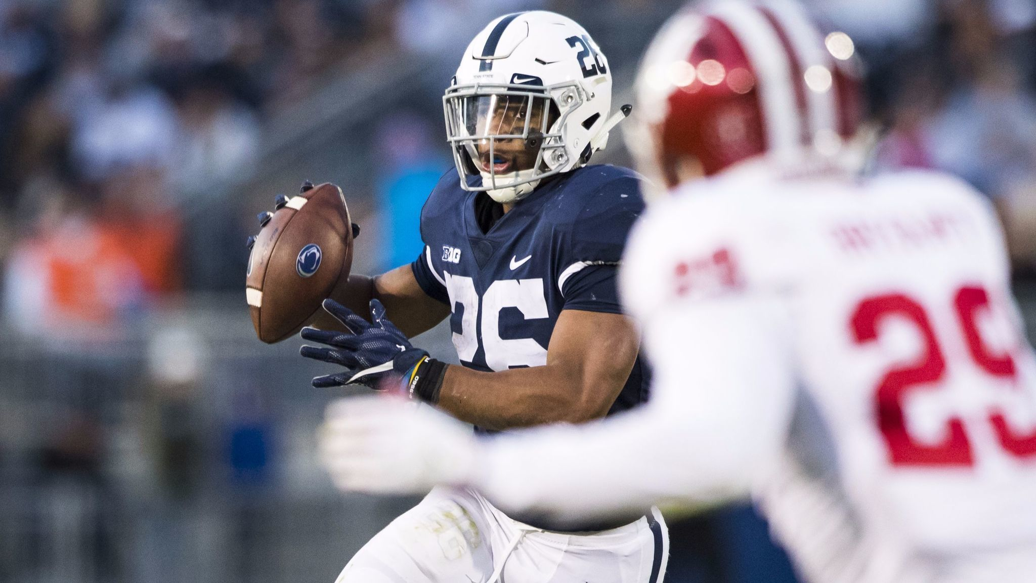 low priced 42dd4 59288 Hey, Saquon Barkley threw a touchdown pass! Still, Penn ...