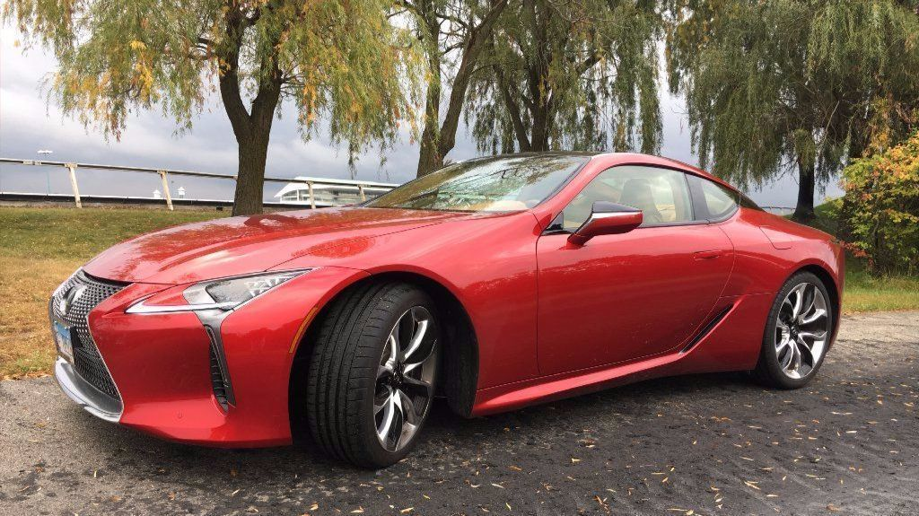 review: 2018 lexus lc 500 is both beauty and beast - chicago tribune