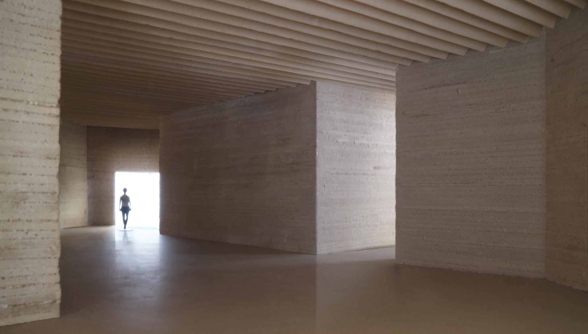 The inside of the museum would evoke an Incan temple.