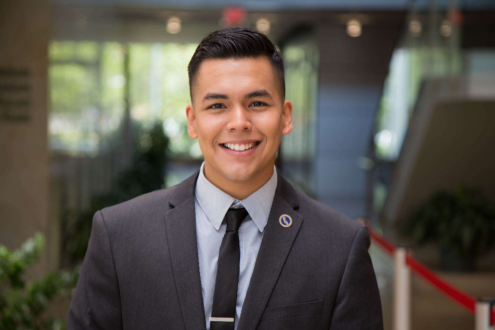 Jorge Reyes Salinas was able to get a campus job at Cal State Northridge thanks to DACA.