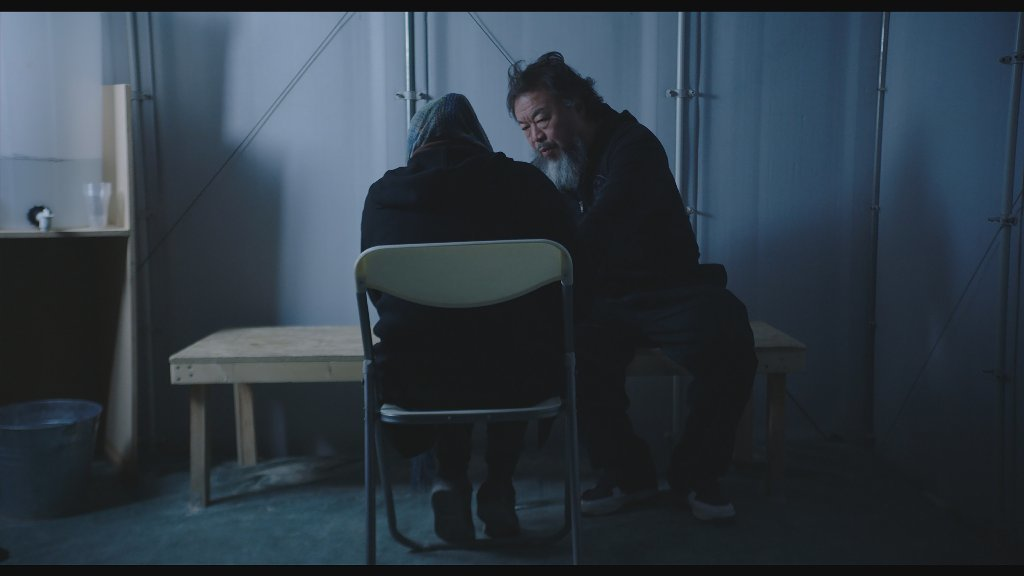 A still from Ai Weiwei's documentary,