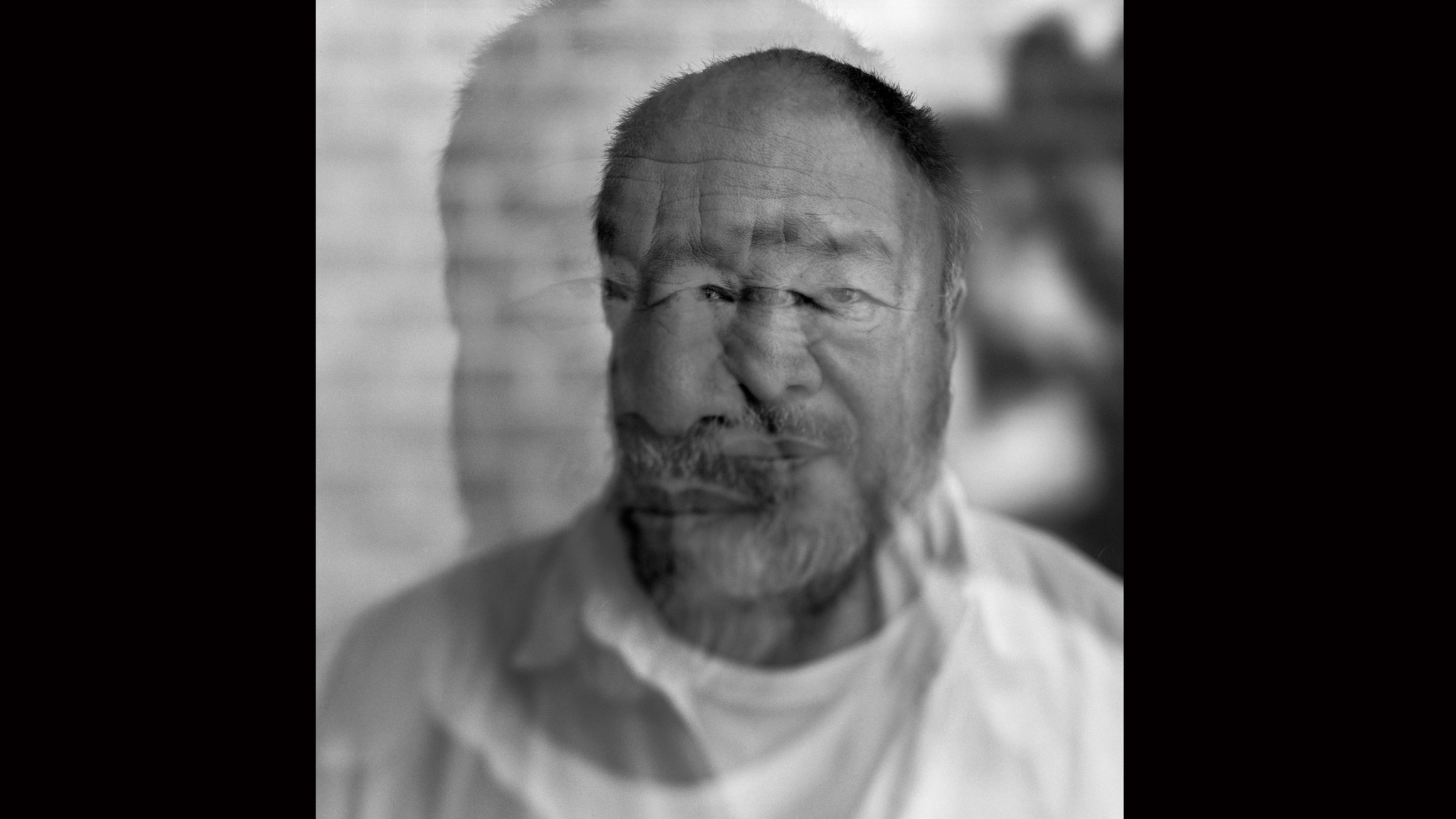 A multiple-exposure portrait of Ai Weiwei, one of China's most famous contemporary artists and a prolific social justice activist. But at his core, Ai insists, he is simply an observer.