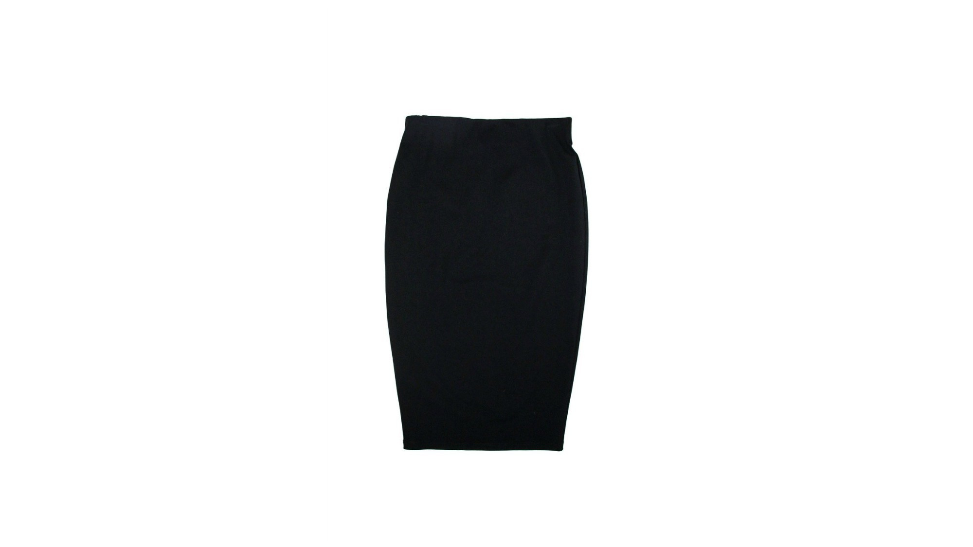 A stretch pencil skirt from David Lerner New York provides fit without feeling restrictive and will look modern with a pussy-bow blouse or neat cropped jacket.
