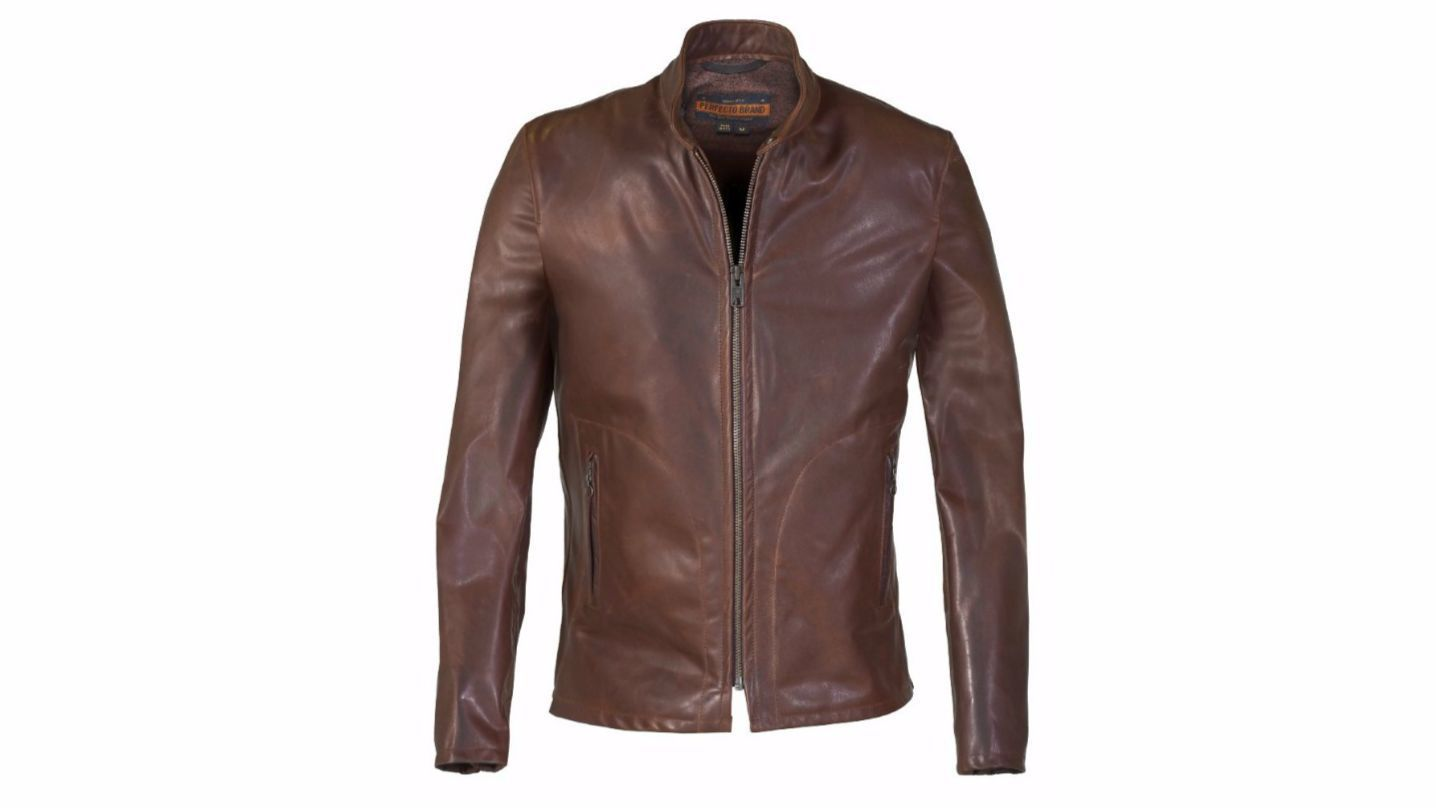09595538f Schott NYC continues to make celebrity cool leather jackets as well ...