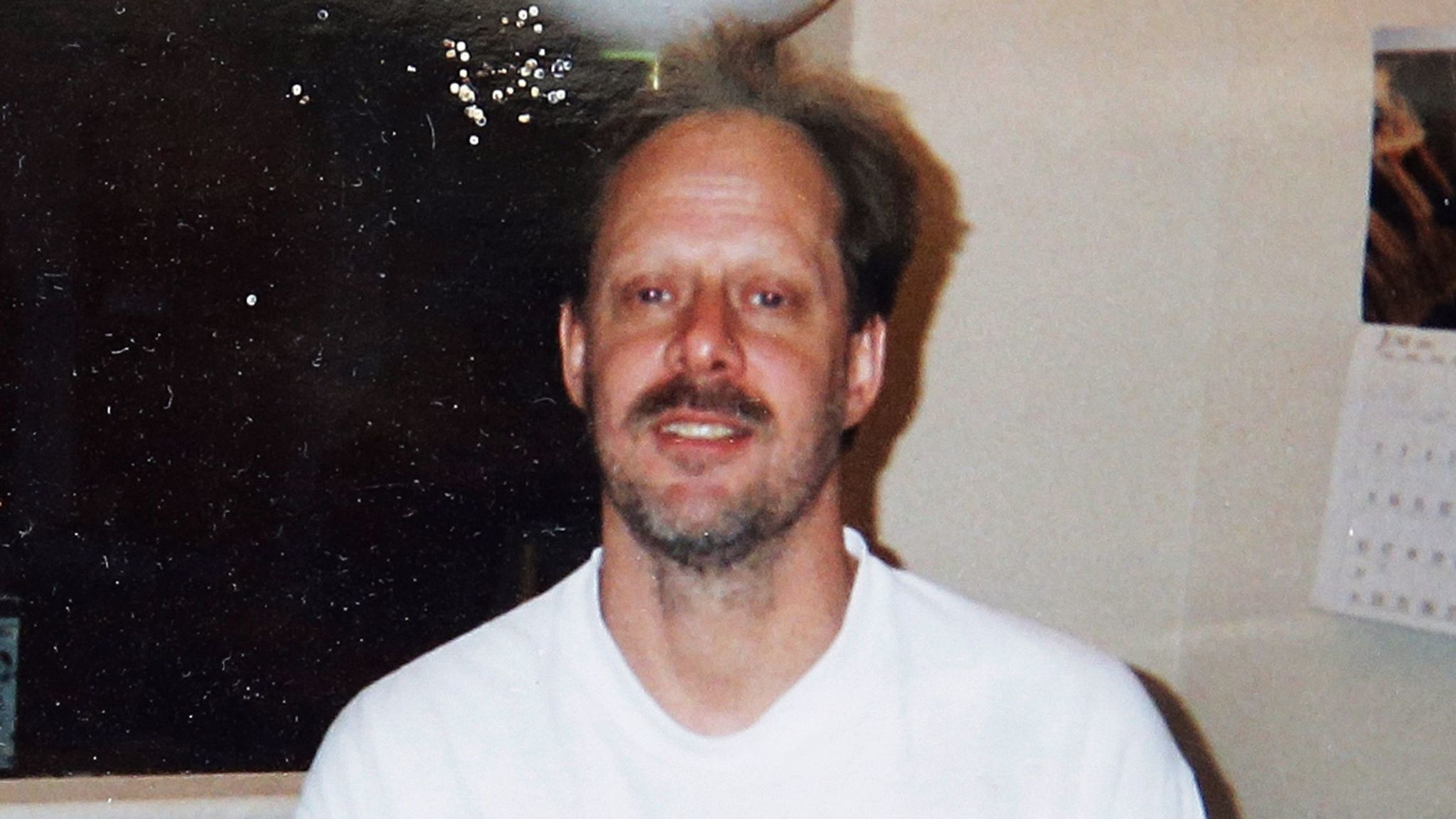 An undated photo shows Stephen Paddock, who opened fire on a Las Vegas country music festival Oct. 1, killing 58 people and wounding nearly 500 others.