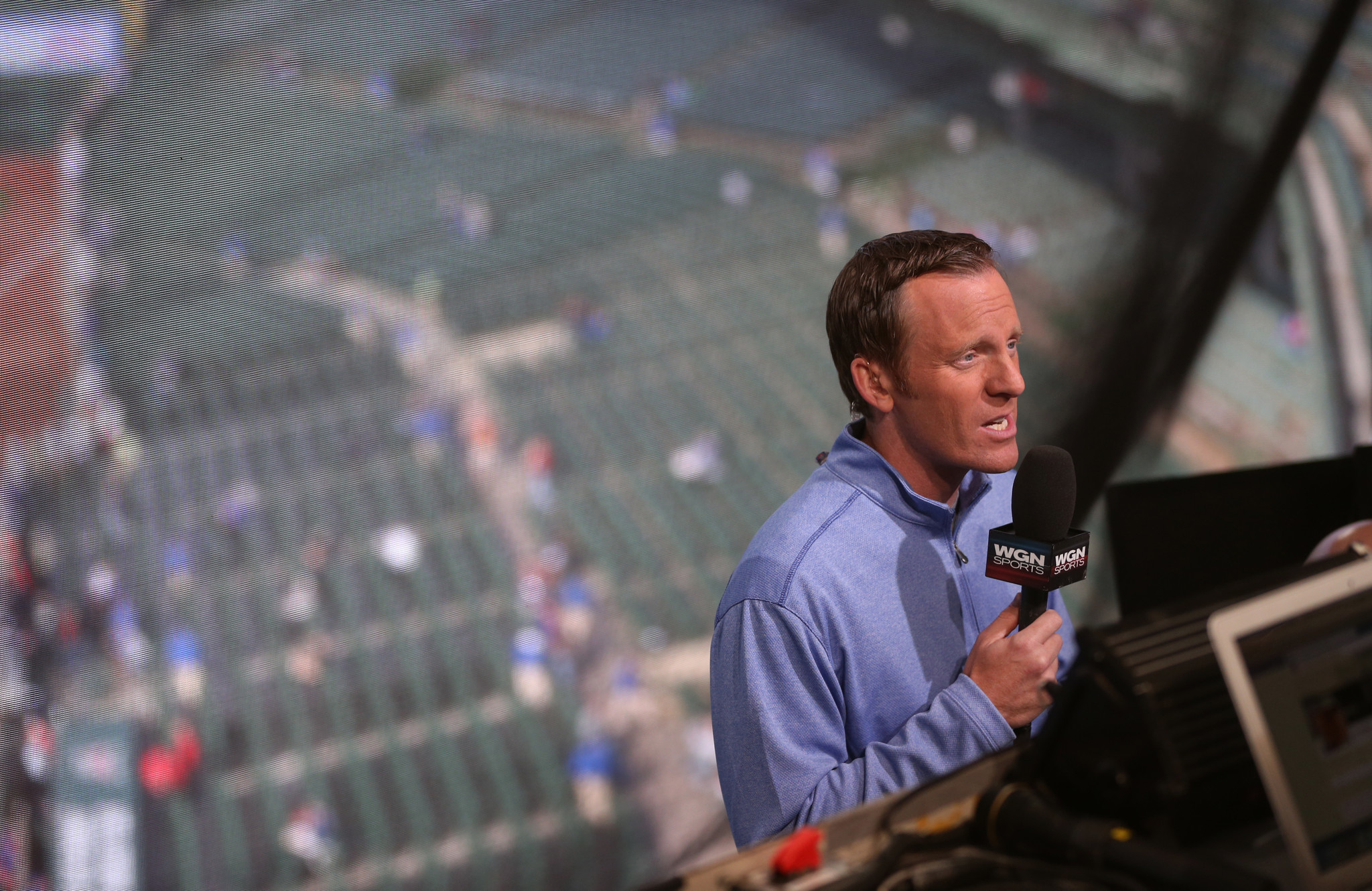 3879f958581 Len Kasper gets a different vantage point with Cubs in playoffs ...