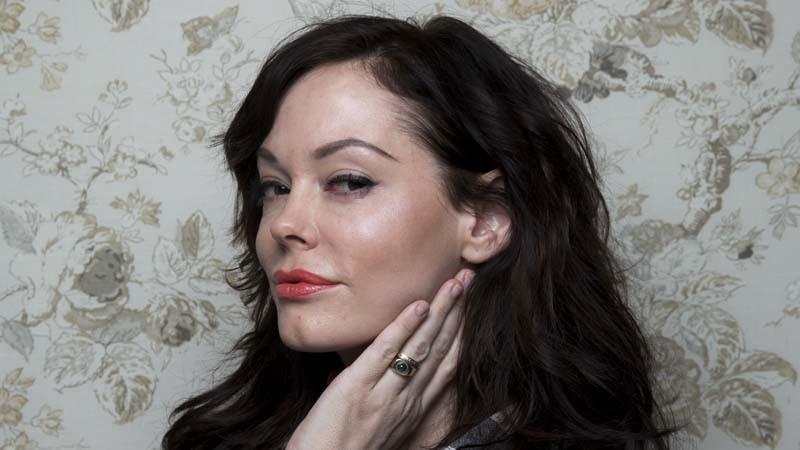 "PARK CITY, UT — JANUARY 17, 2014--Director Rose McGowan, with the film ""Dawn,"" photographed in the"