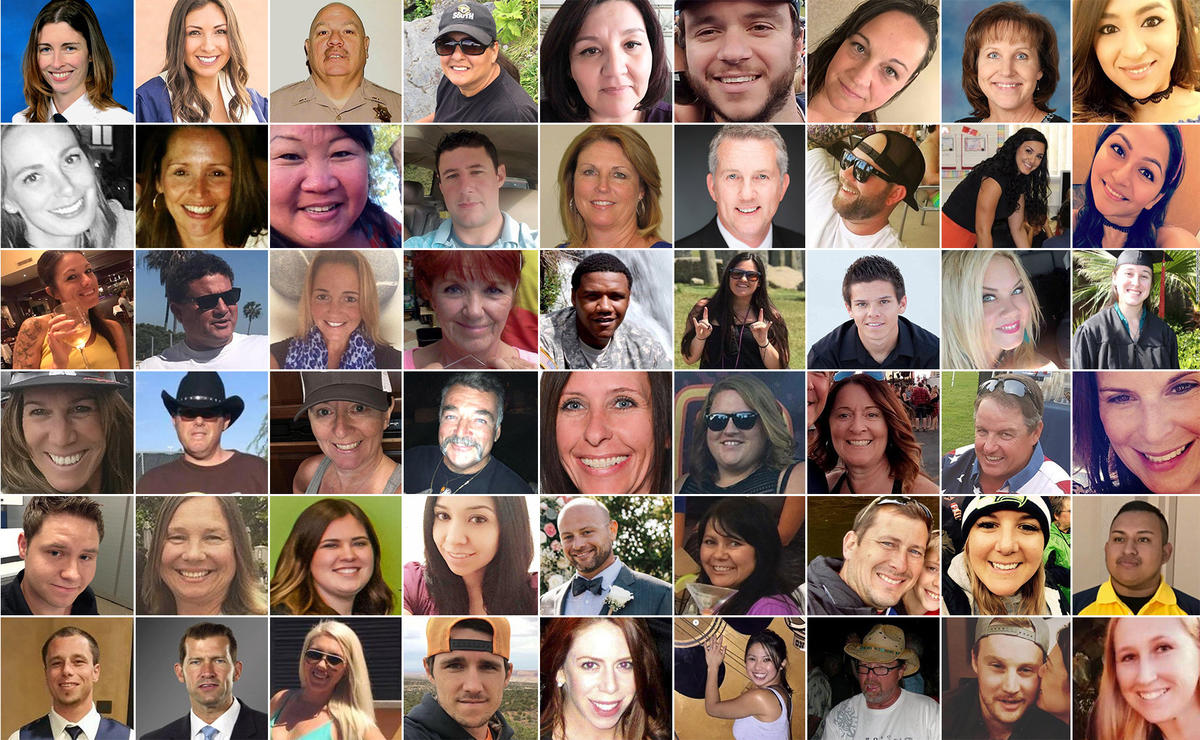 Las Vegas Shooting Victims Portraits Of The Fallen