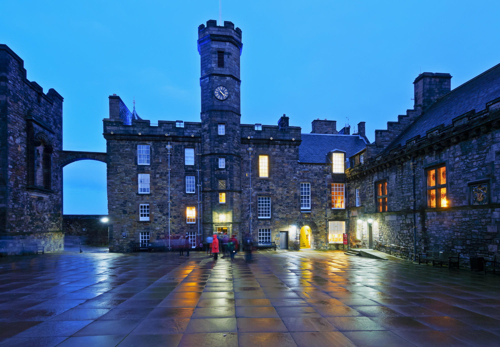 Edinburgh Castle, The Royal Palace.