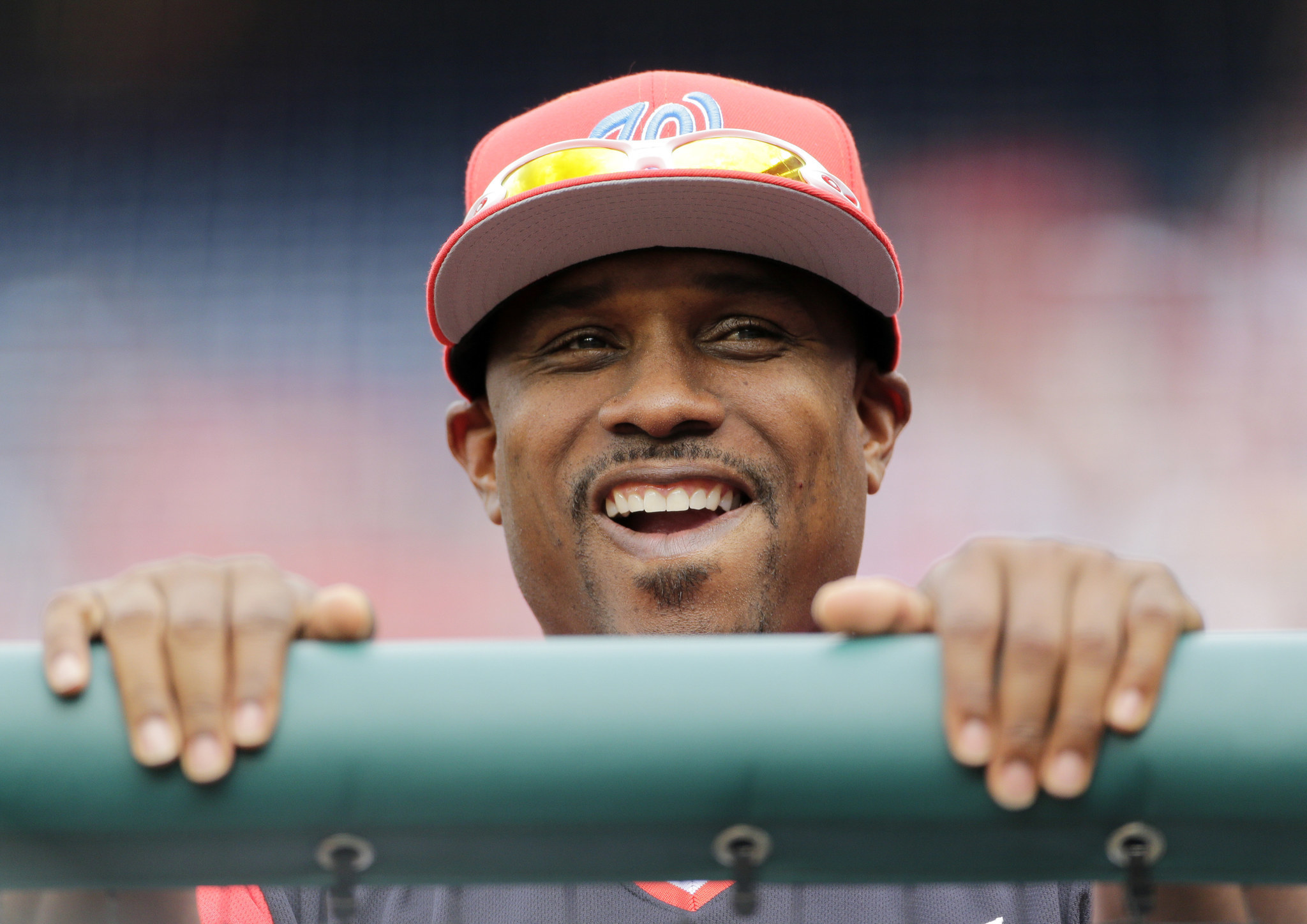What does Nationals assistant hitting coach Jacque Jones