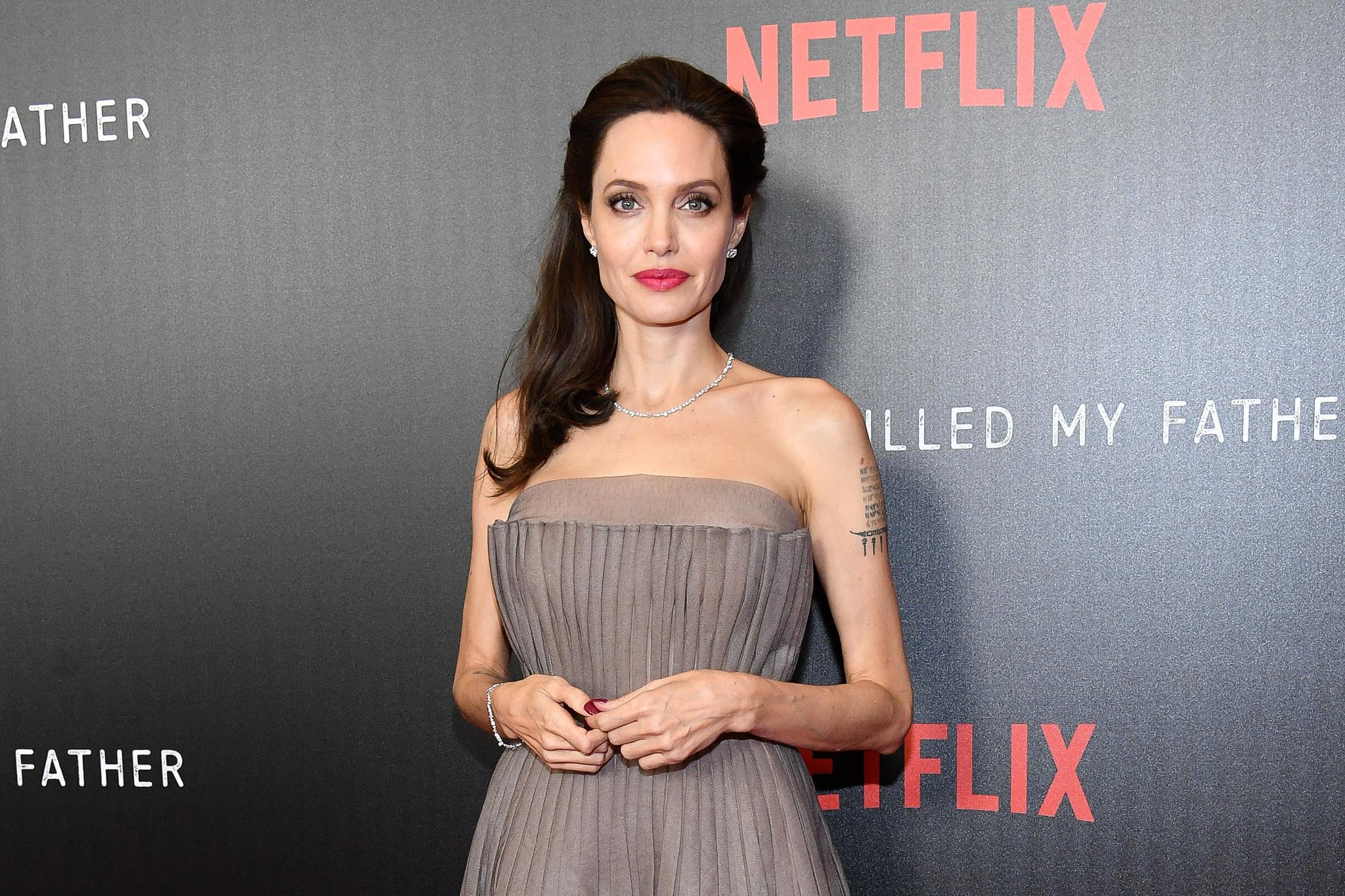 Actress-director Angelina Jolie. (Dia Dipasupil / Getty Images)