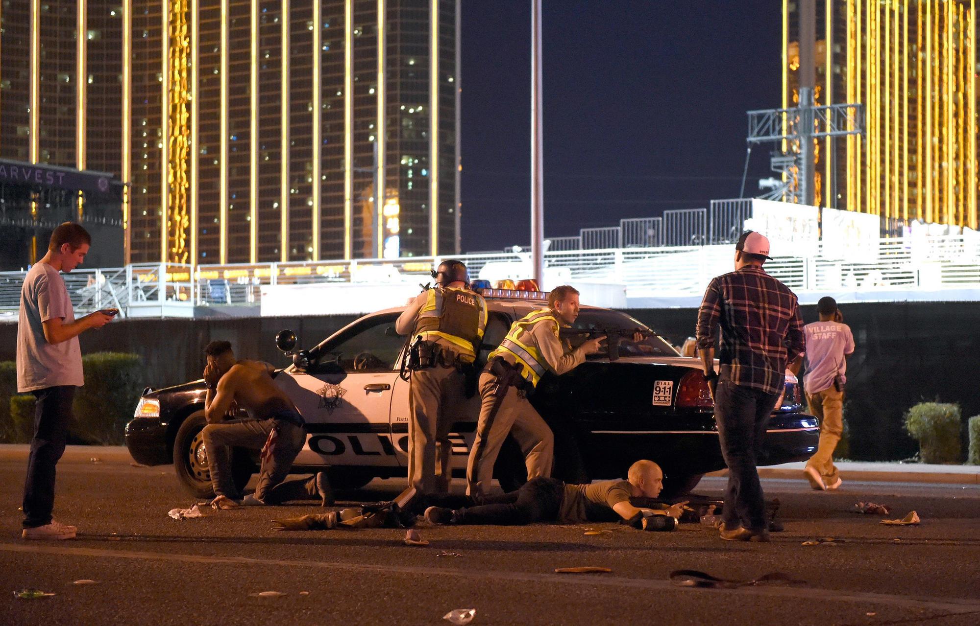 Vegas Hotel Shooting