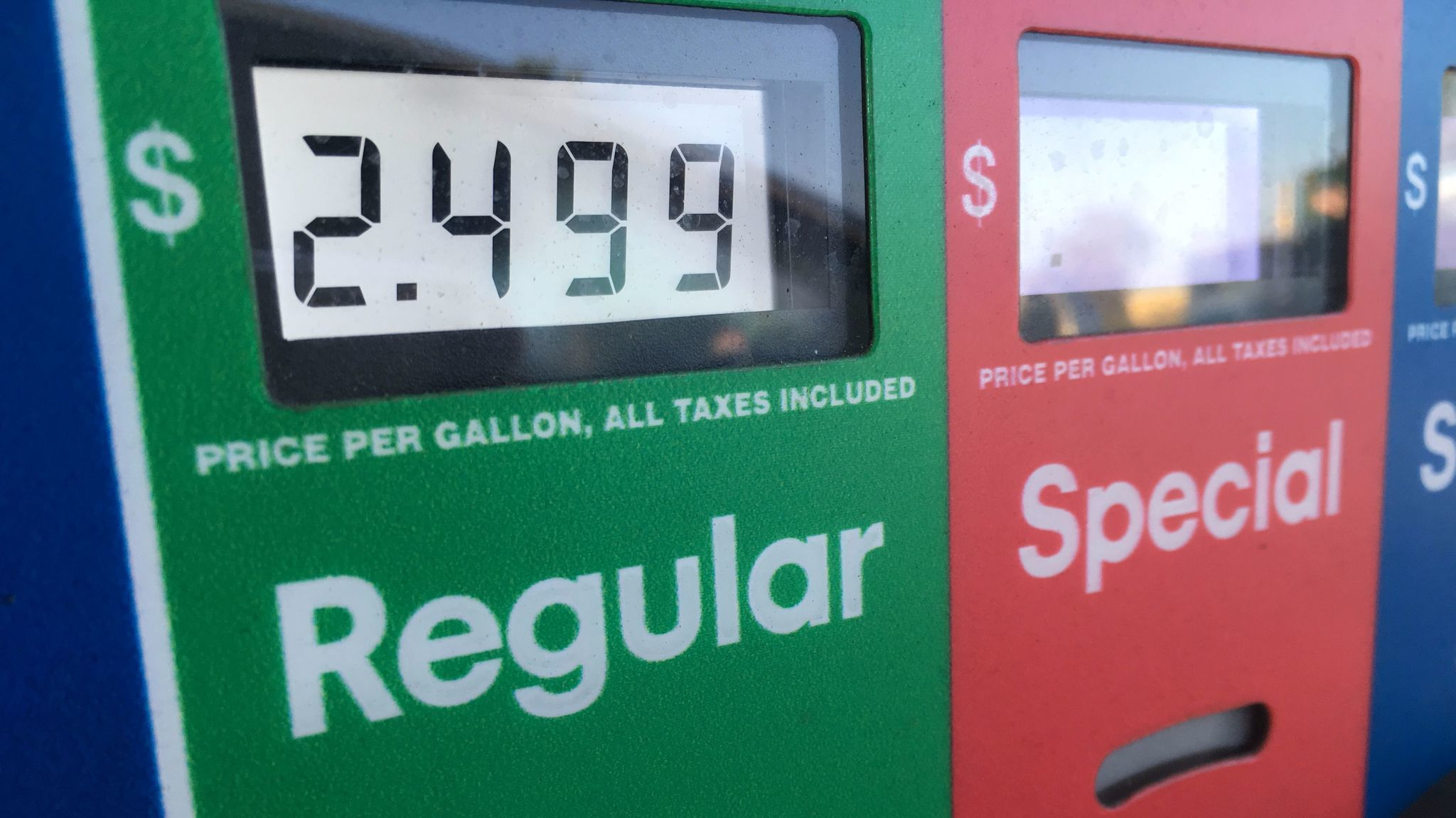 Gas Prices Falling As Hurricane Punch Fades