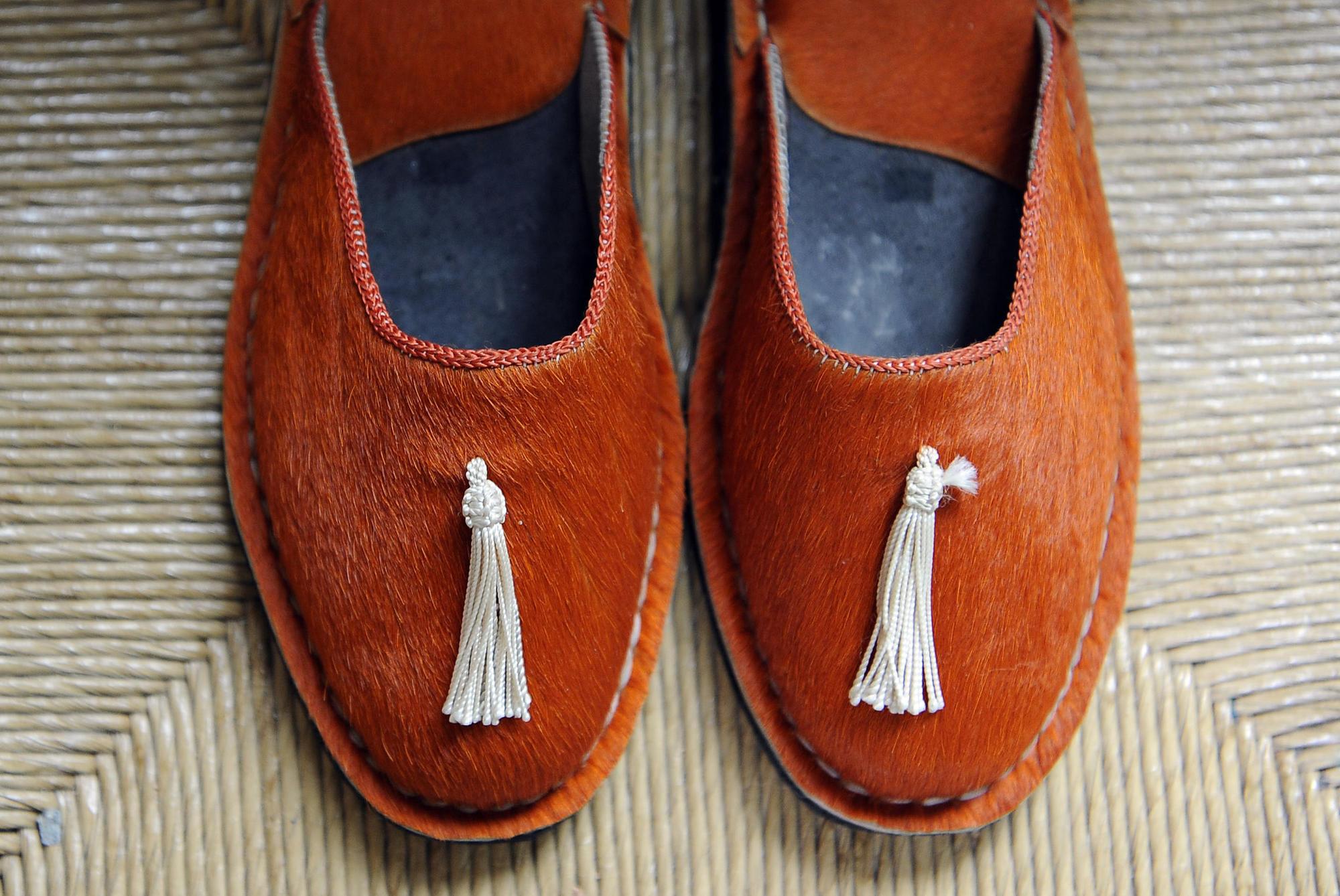 A shoe style by designer Beatrice Valenzuela.