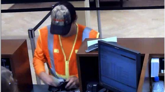 Costume Changing Shaky Bandit Sought In Eight Bank