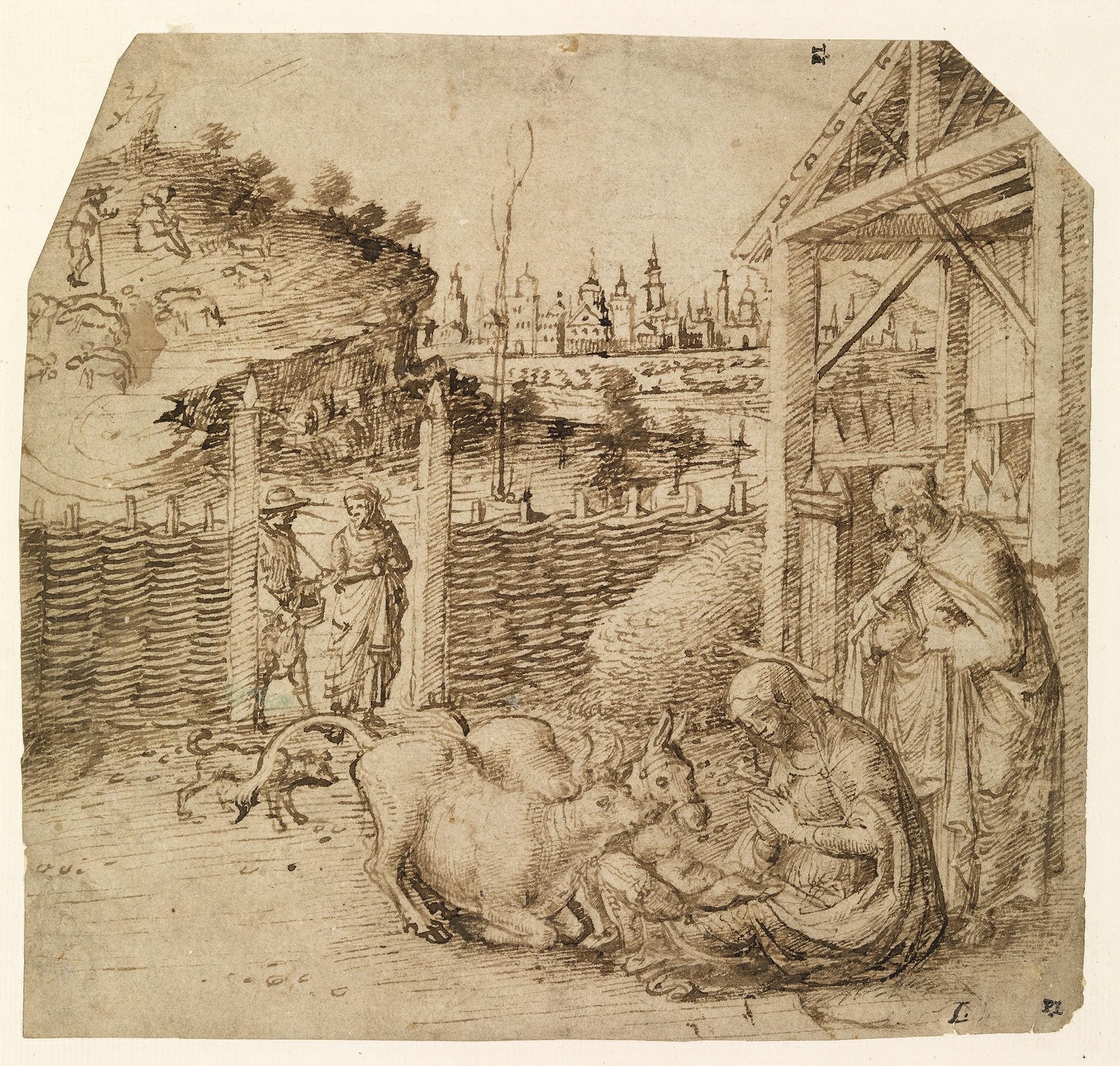 """Giovanni Bellini, """"Nativity,"""" circa 1475."""