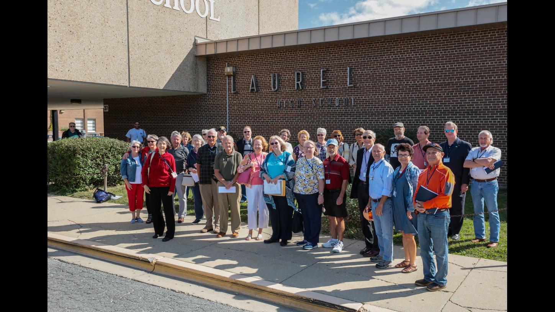 Laurel High Class Of 1967 Heads Back To School Laurel