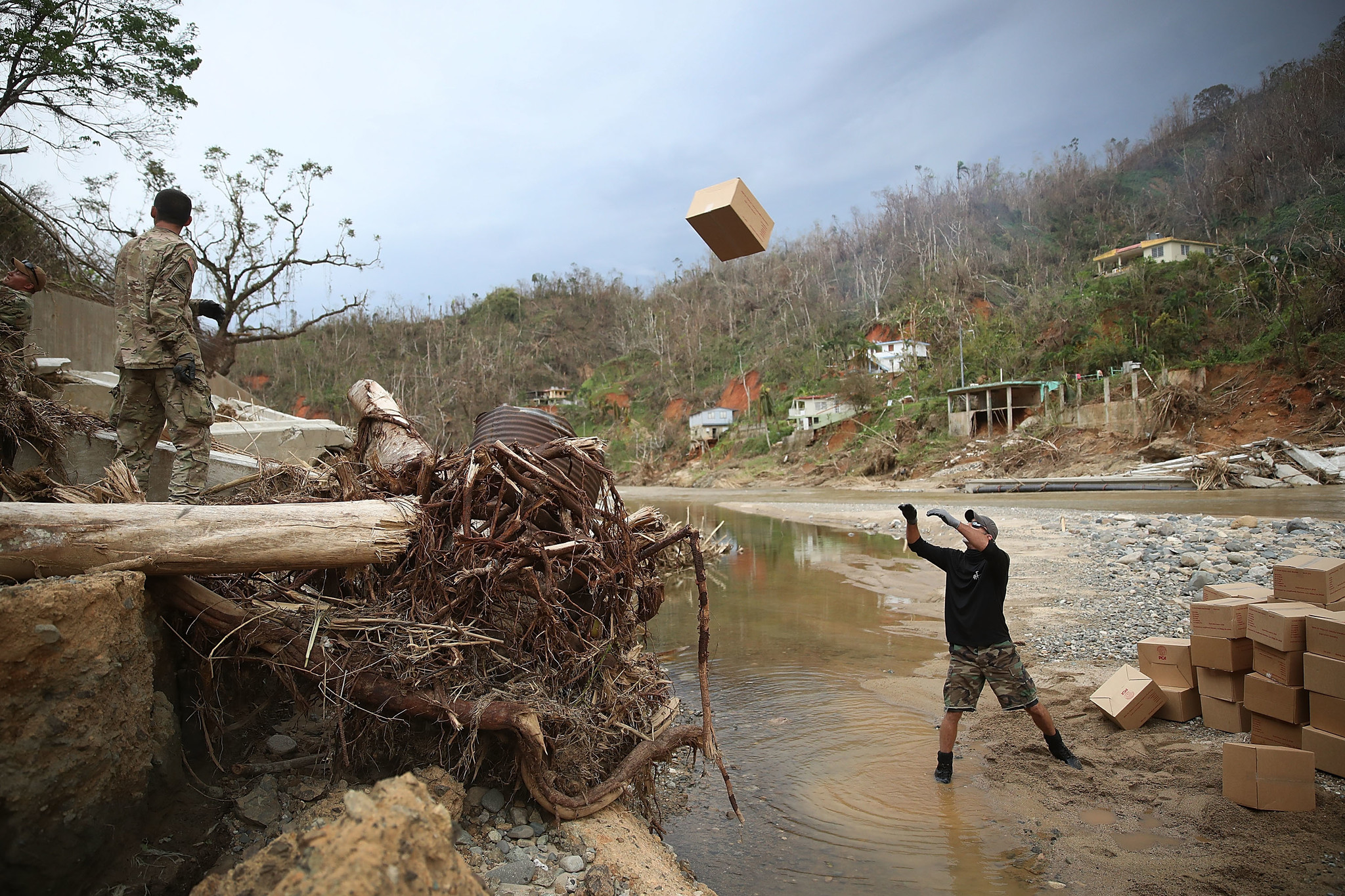 BESTPIX - Puerto Rico Faces Extensive Damage After Hurricane Maria