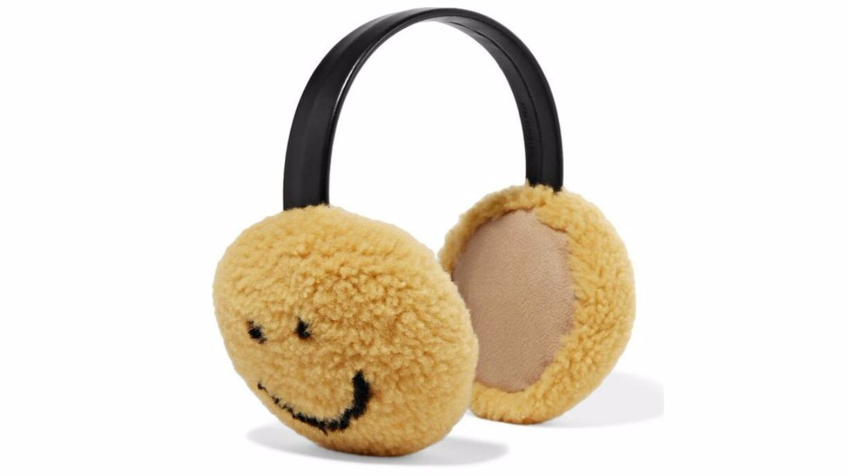 Anya Hindmarch ear muffs.