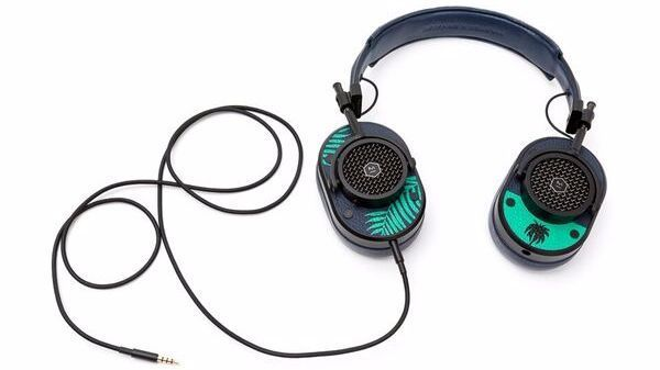 Master & Dynamic's hand-painted palm-print MH40 Over-Ear Headphones.