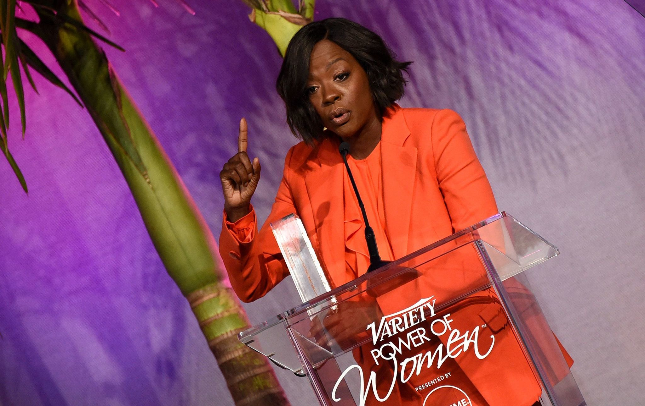 Viola Davis onstage at Variety's Power of Women luncheon.