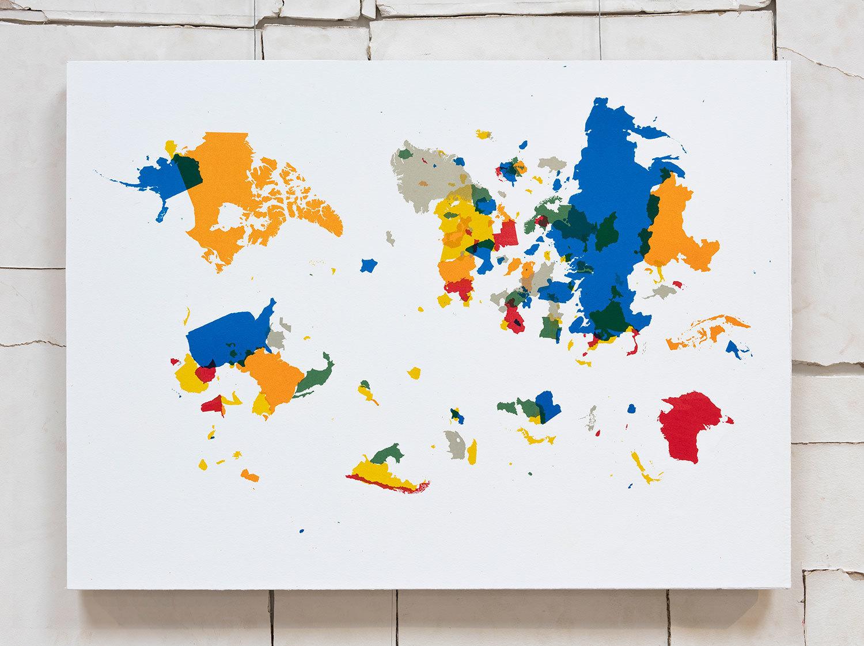 """Emilio Chapela, """"Euroasiaamérica,""""  2014."""