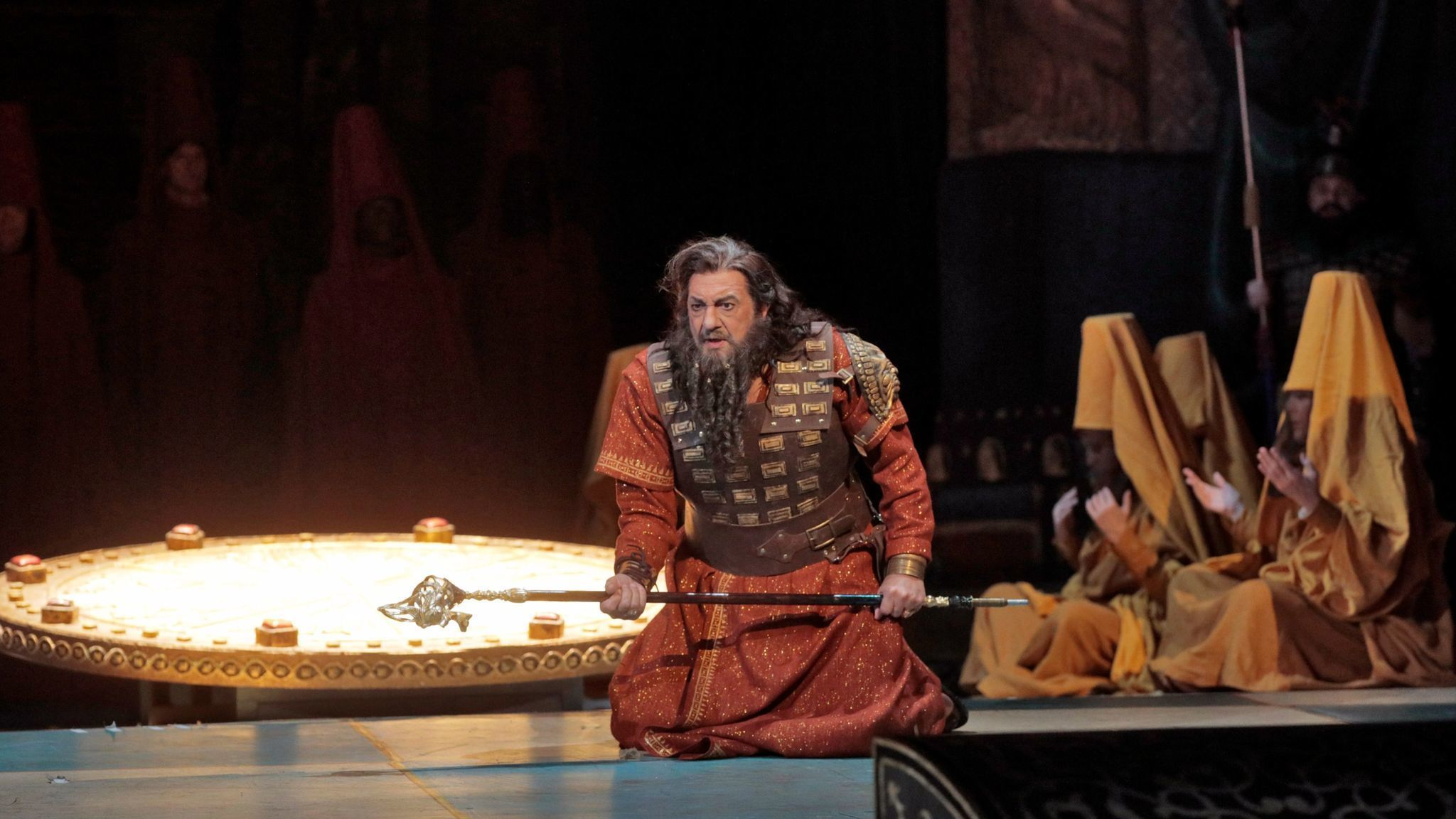 Review:With Plácido Domingo and L.A. Opera, 'Nabucco' still has the power to provoke