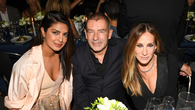 Sarah Jessica Parker reached Hammer Museum Gala