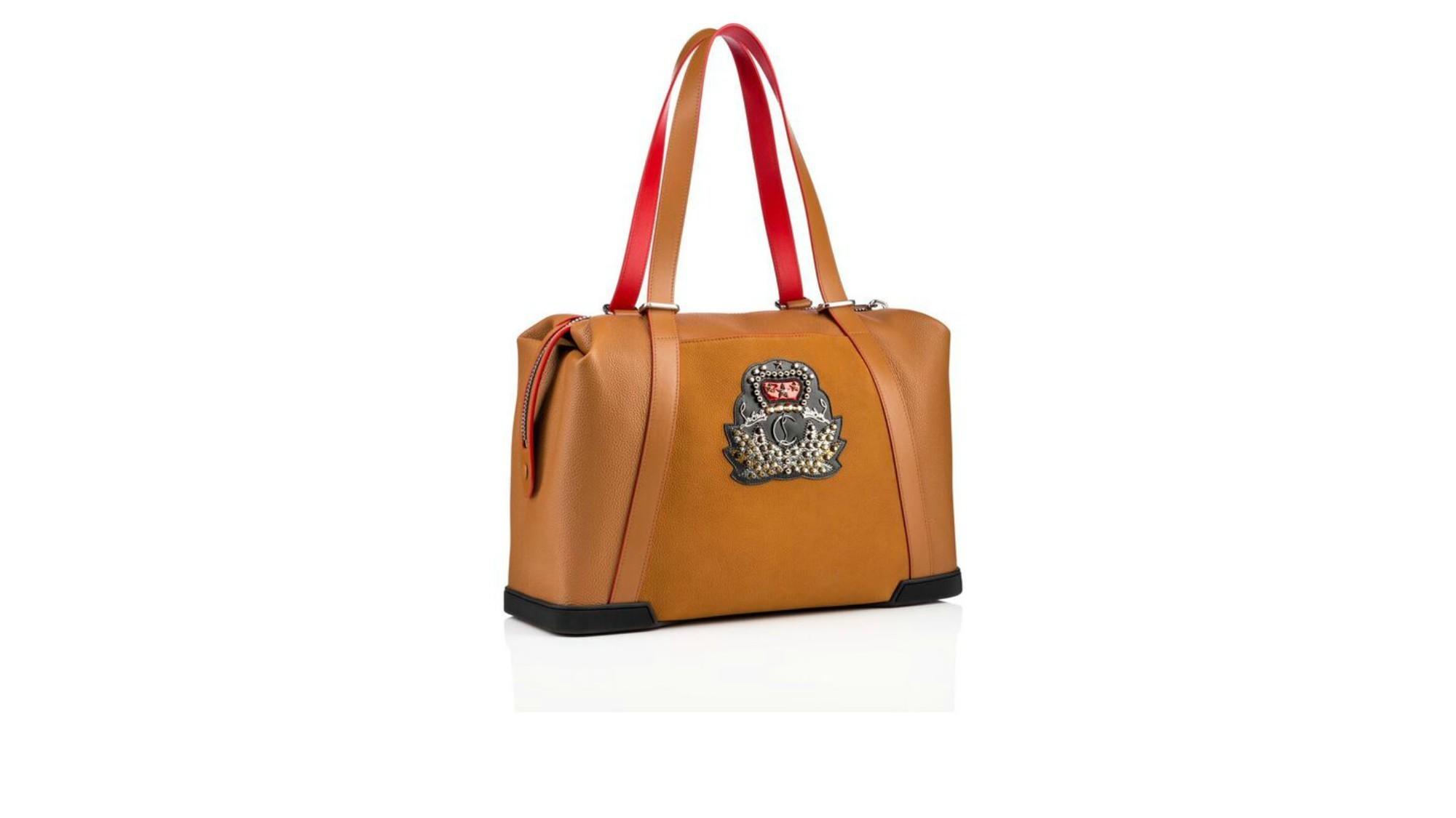 Christian Louboutin's calfskin Bagdamon bag.
