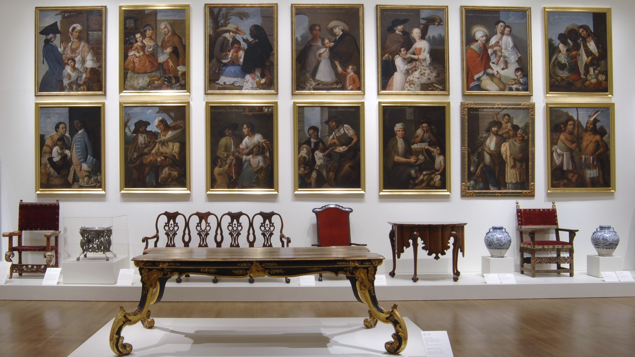 Fourteen of the 16 Cabrera paintings were reunited in a 2006 exhibition at the Philadelphia Museum of Art.