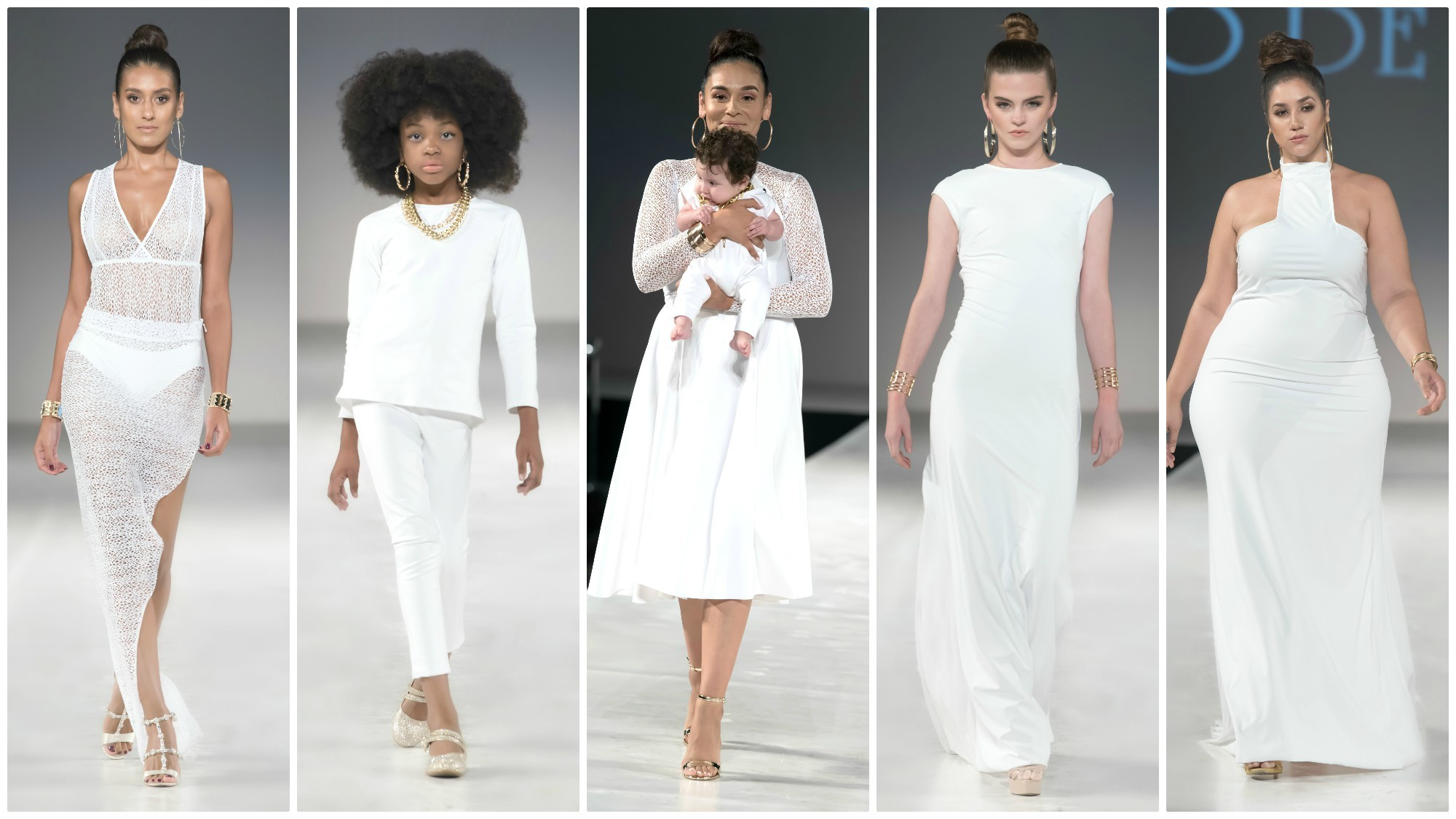 Looks from Mario De La Torre's spring/summer 2018 collection.