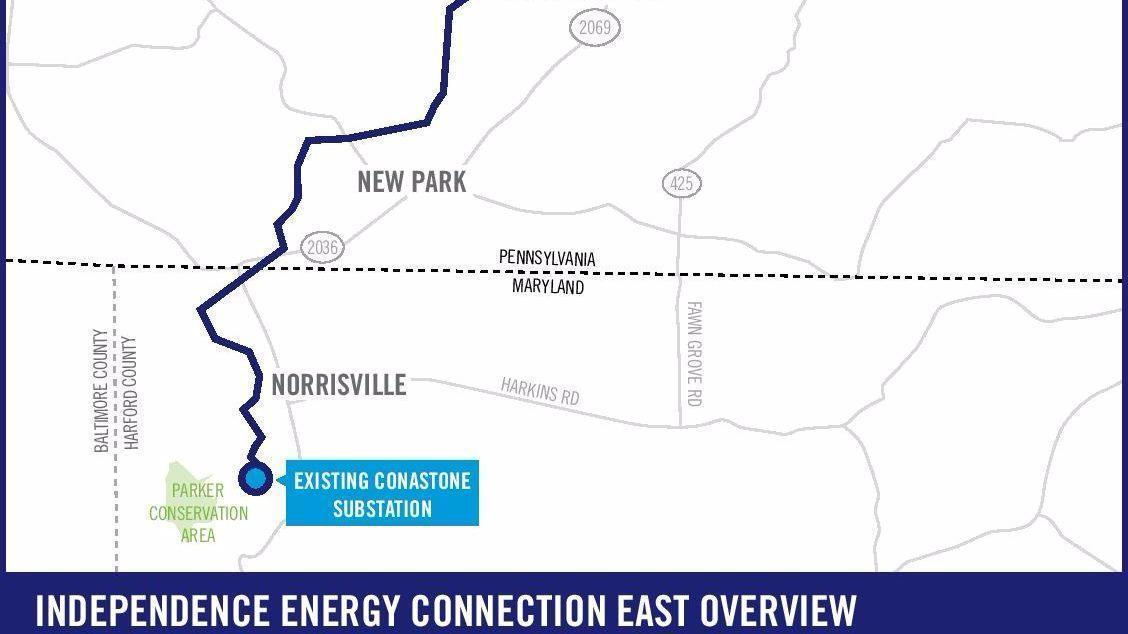 Final Route Selected For Controversial Power Line Project