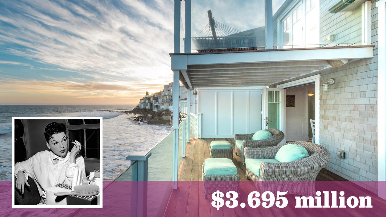 Judy Garland S Former Malibu Beach House Lists For Sale At