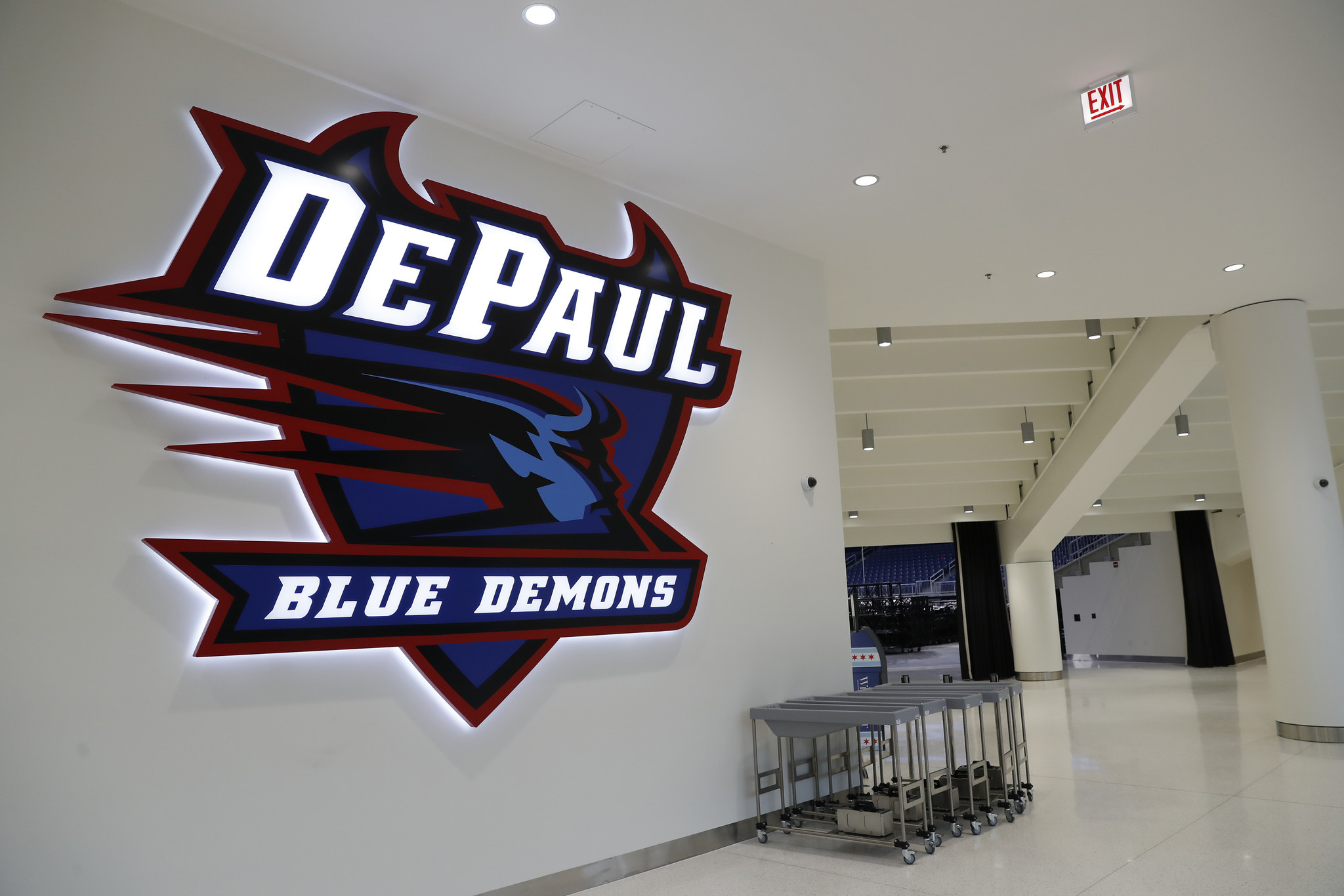 Exterior: For DePaul Basketball, Moving Into New Downtown Home Is