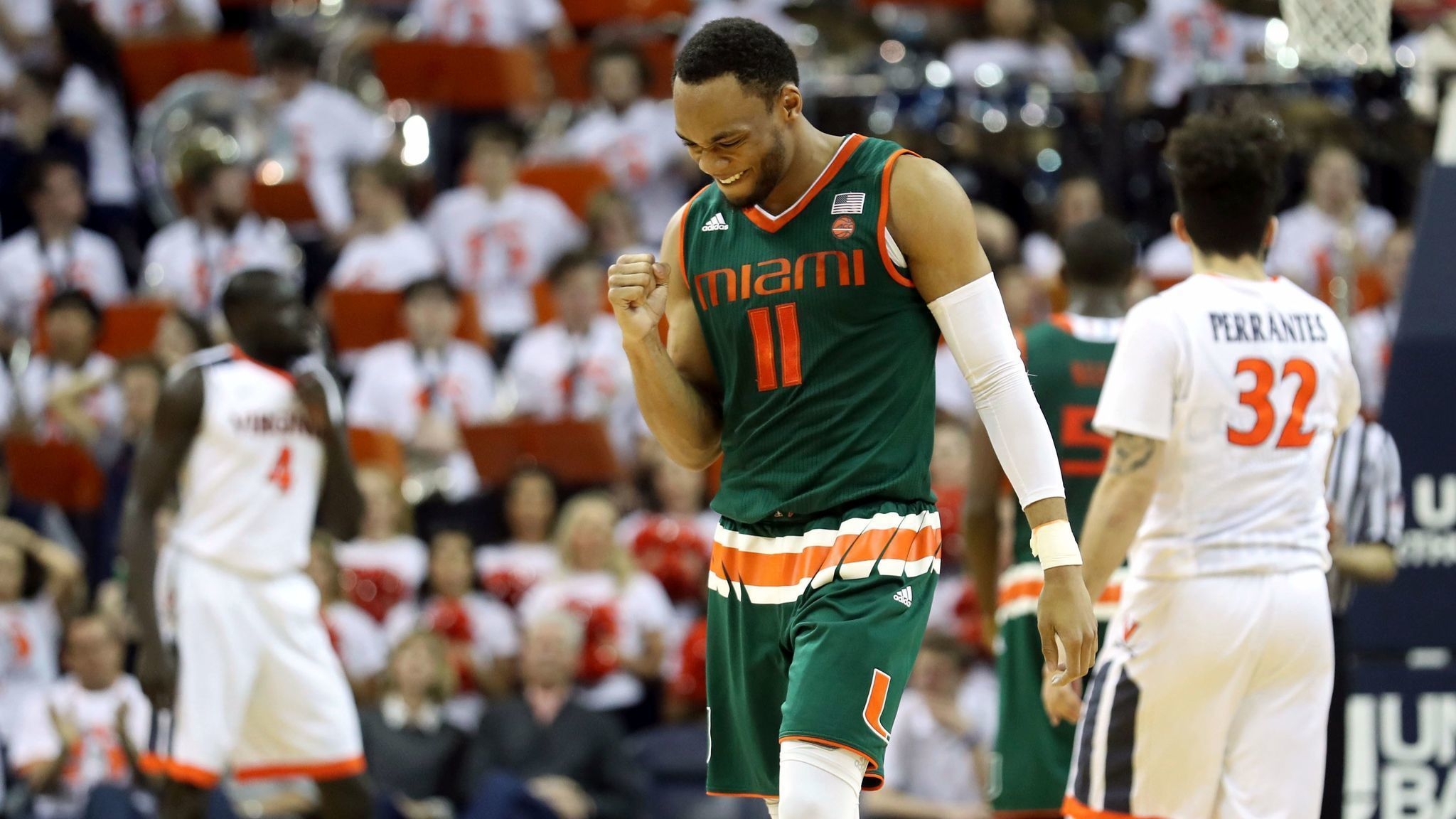 new concept cdfea a6aa7 Hurricanes men's basketball team ranked 12th in preseason ...