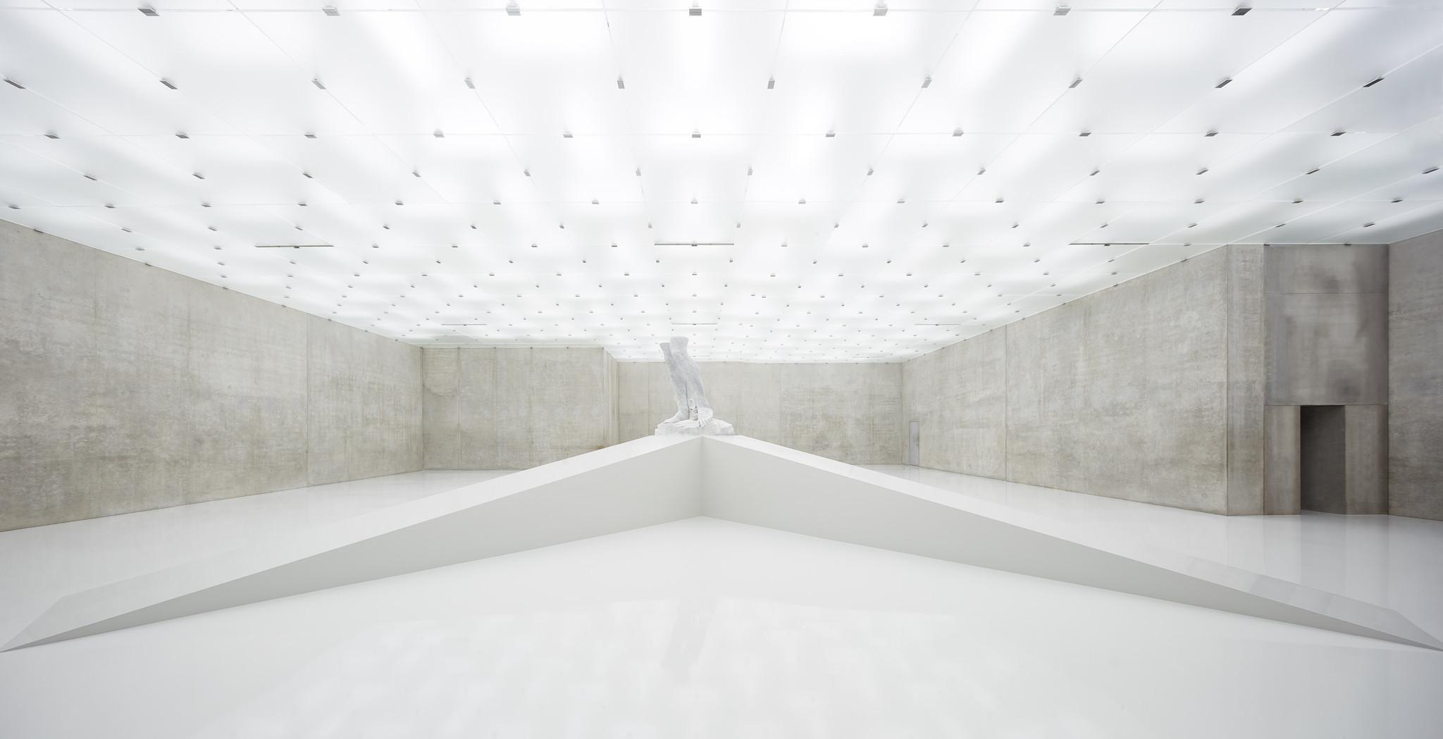An installation view of Adrian Villar Roja's