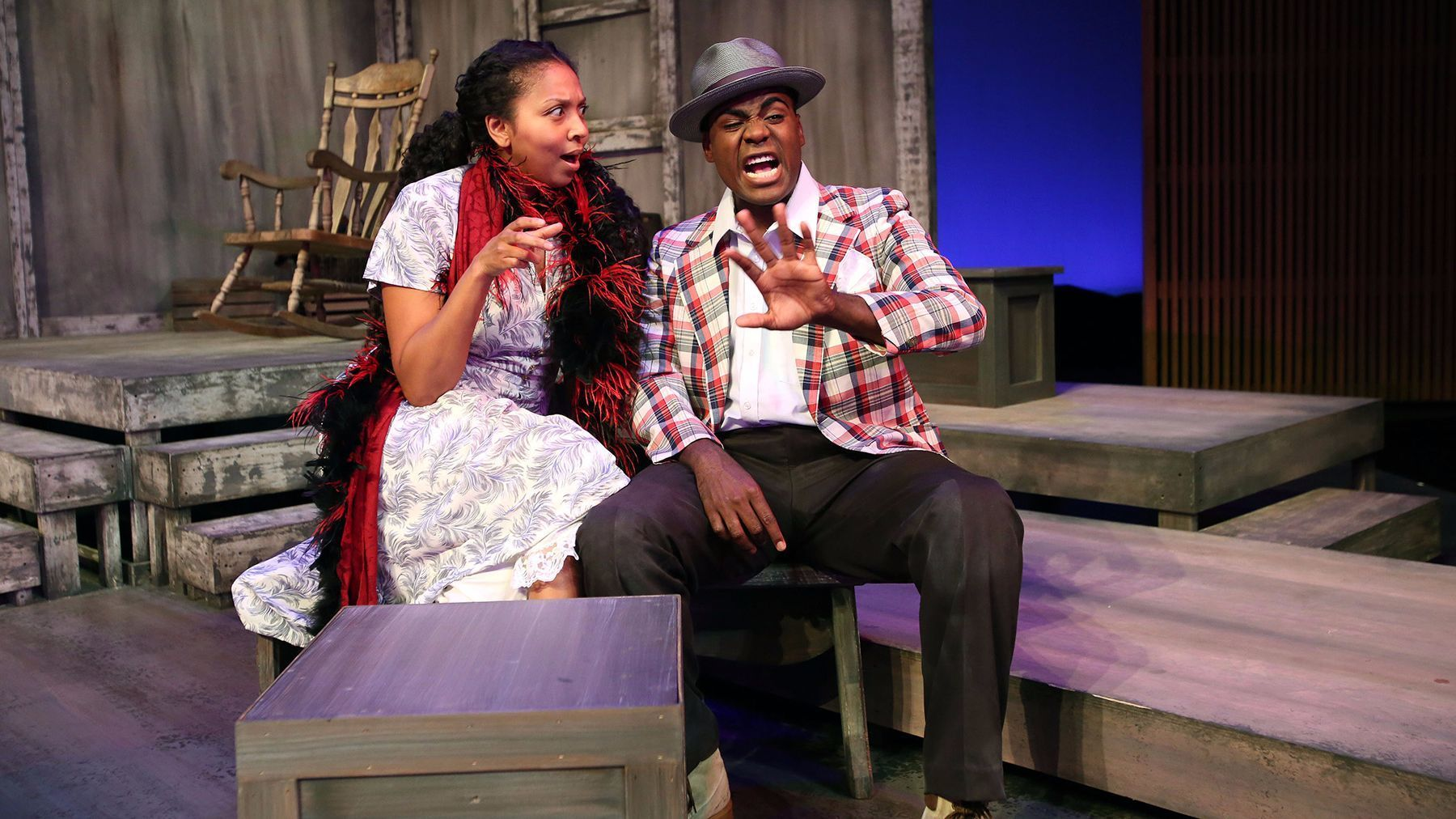 """Leilani Smith and Donathan Walters in """"Home."""""""