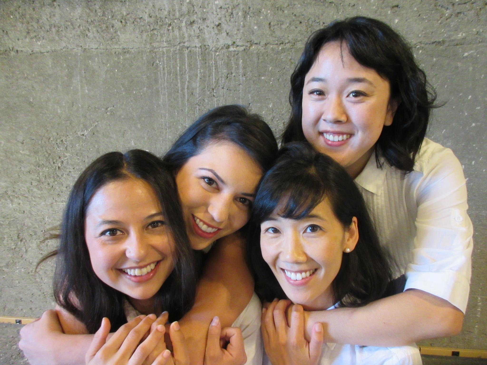 "Nina Harada, Jacqueline Misaye, Jennifer Chang and Rose Narasaki in ""Little Women."""