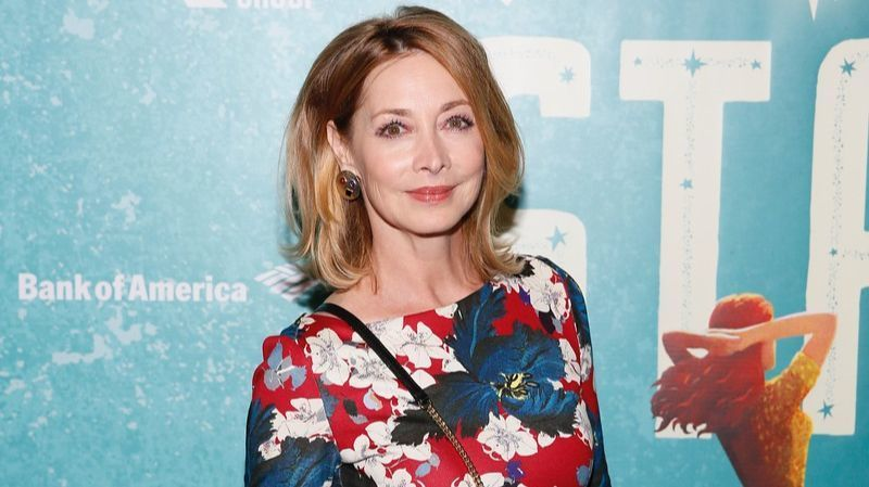 Sharon Lawrence at the opening night of Steve Martin and Edie Brickell's musical