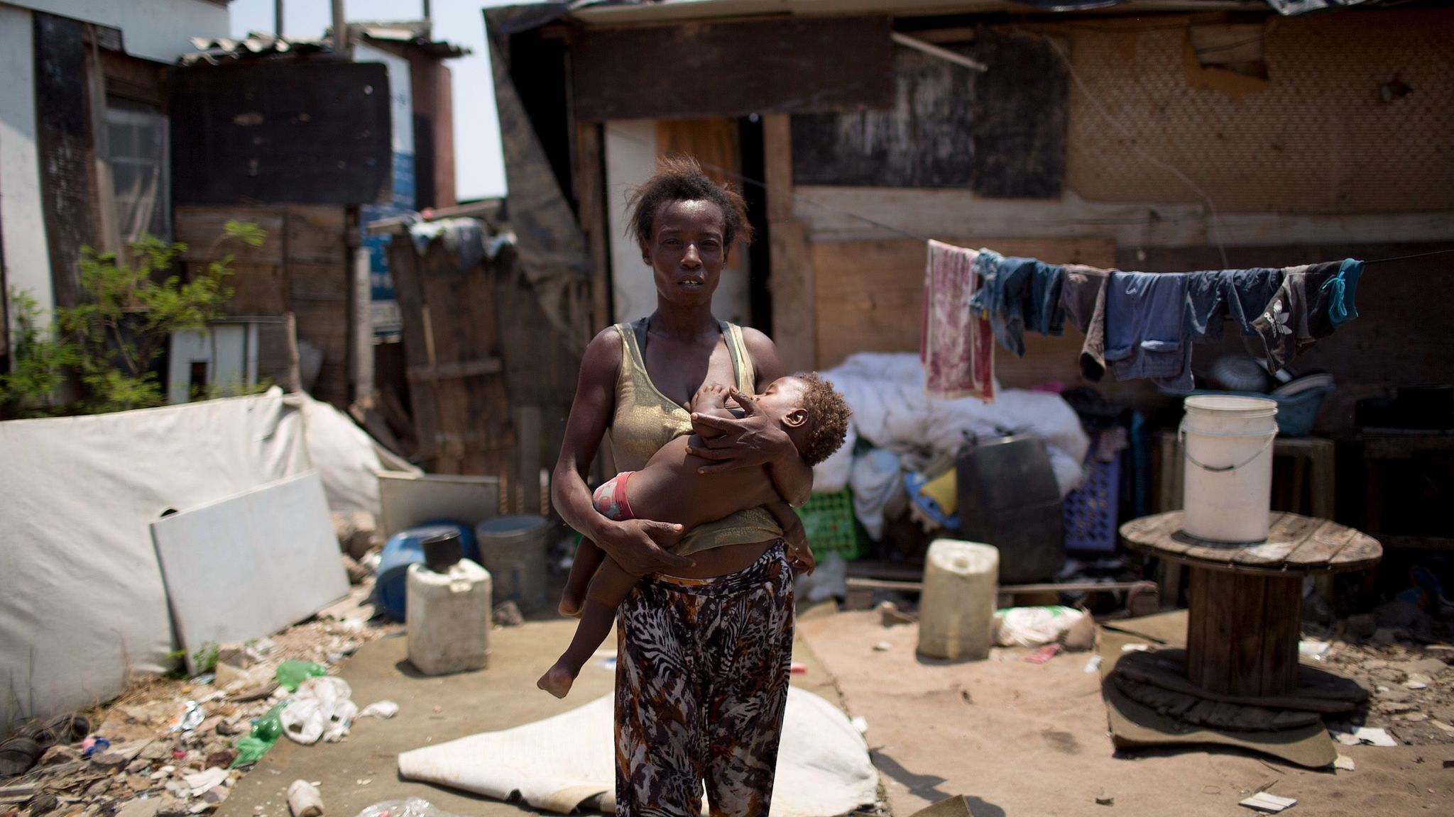 La pobreza se posa en Brasil - Hoy Chicago