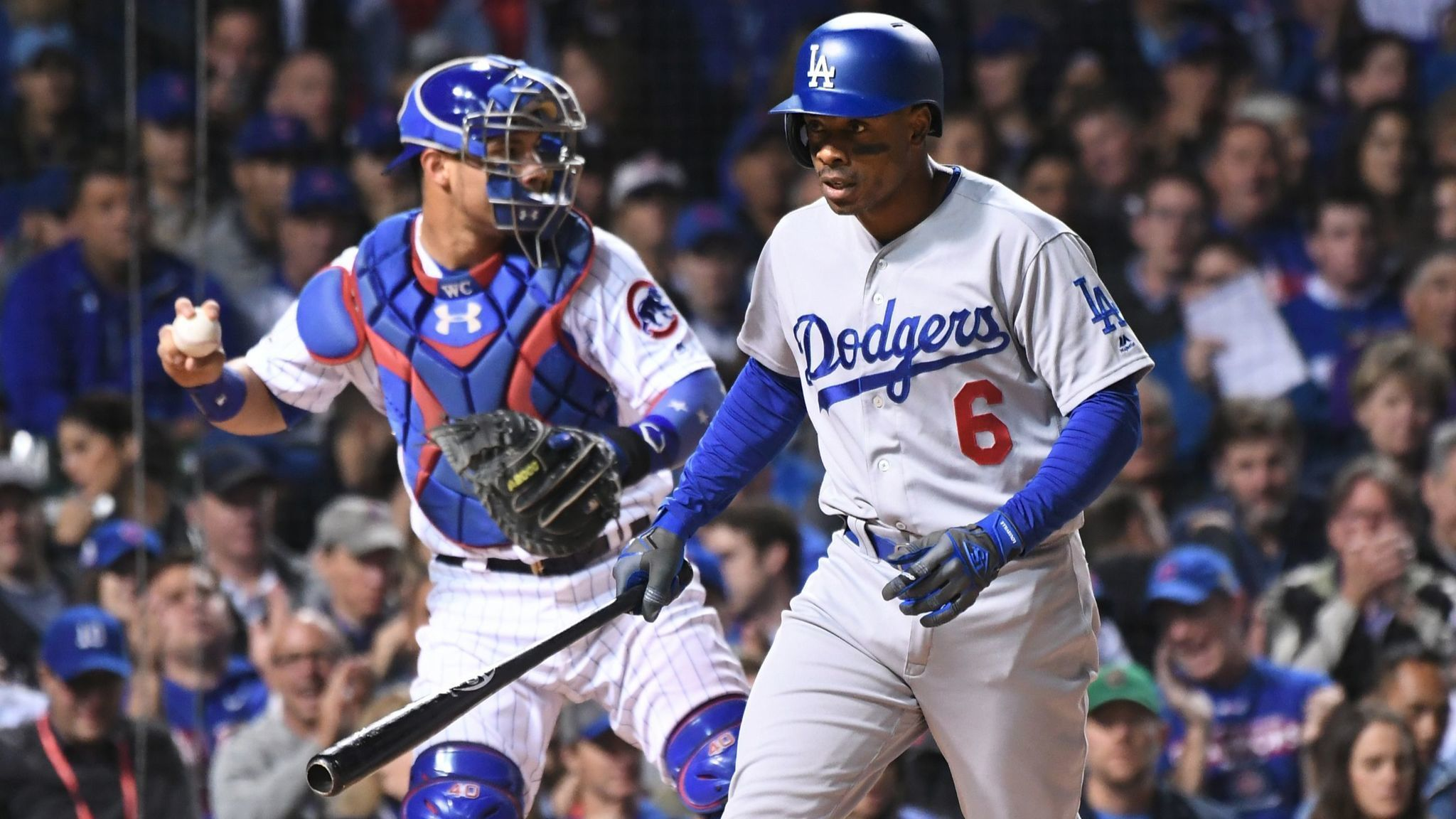 Dodgers leave outfielder Curtis Granderson off World