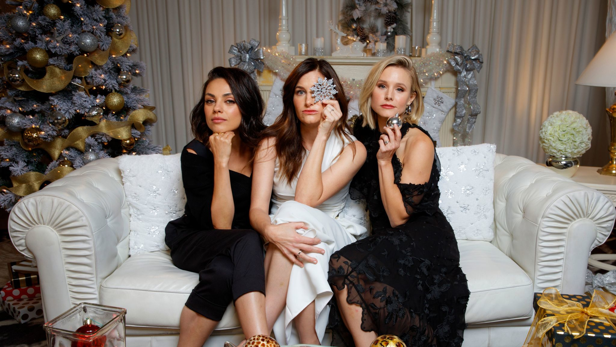 Kunis, Hahn and Bell are all starring in a live-action sequel for the first time.