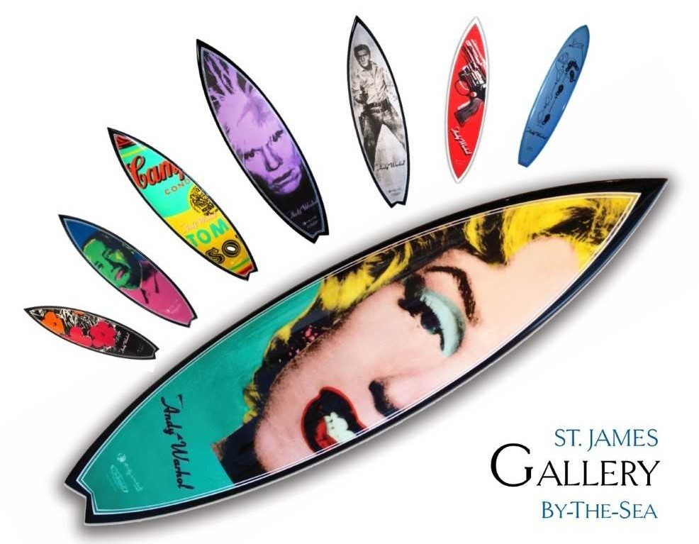 'The Art of thge Surfboard'