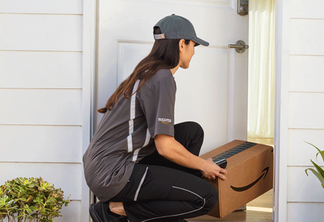 Amazon Wants To Drop Packages Off Inside Your Home With