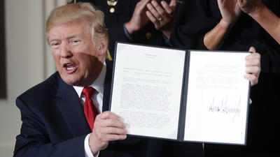 Trump declares opioids a public health emergency but pledges no new money
