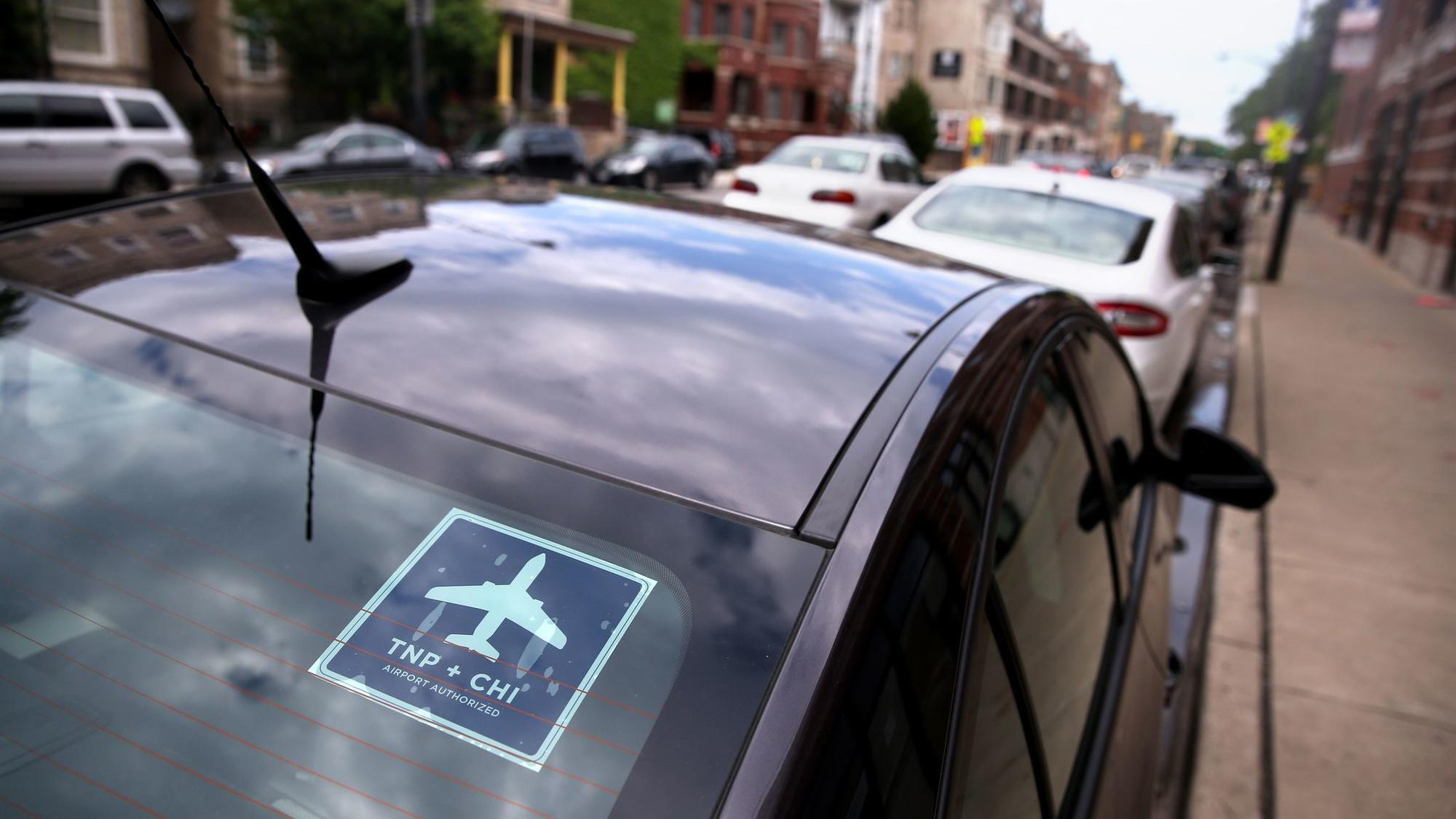 Making Room For Uber Taxis And Transit Chicago Tribune