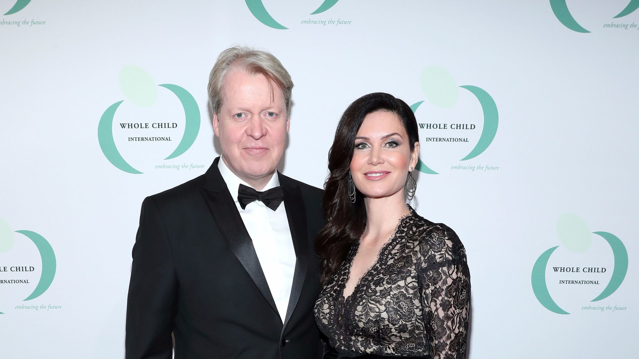 Charles and Karen Spencer at the Beverly Hills gala for Whole Child International.